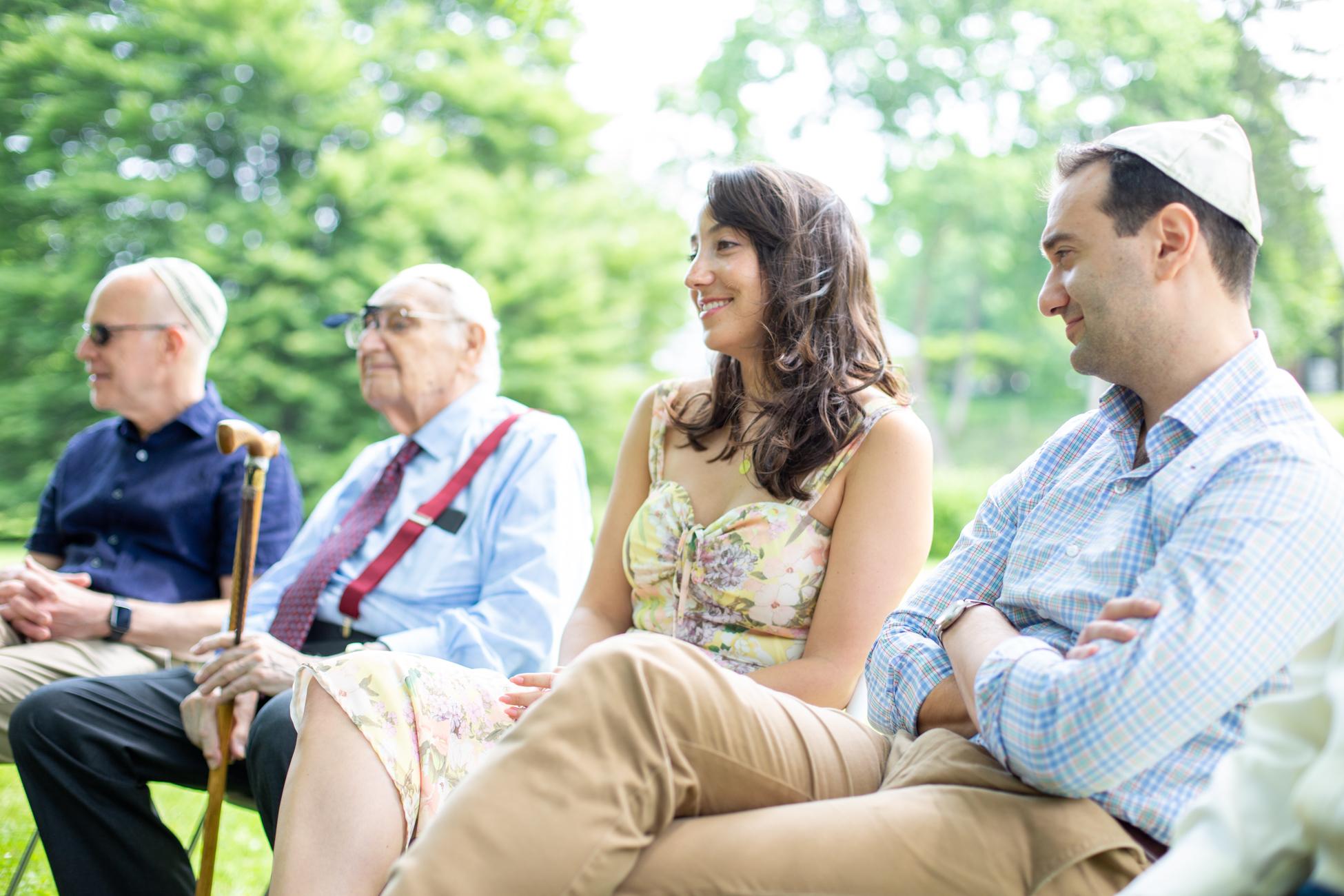 Elizabeth and Alex's Wedding Ceremony in Merion Botanical Gardens by Avi Loren Fox LLC-9.jpg