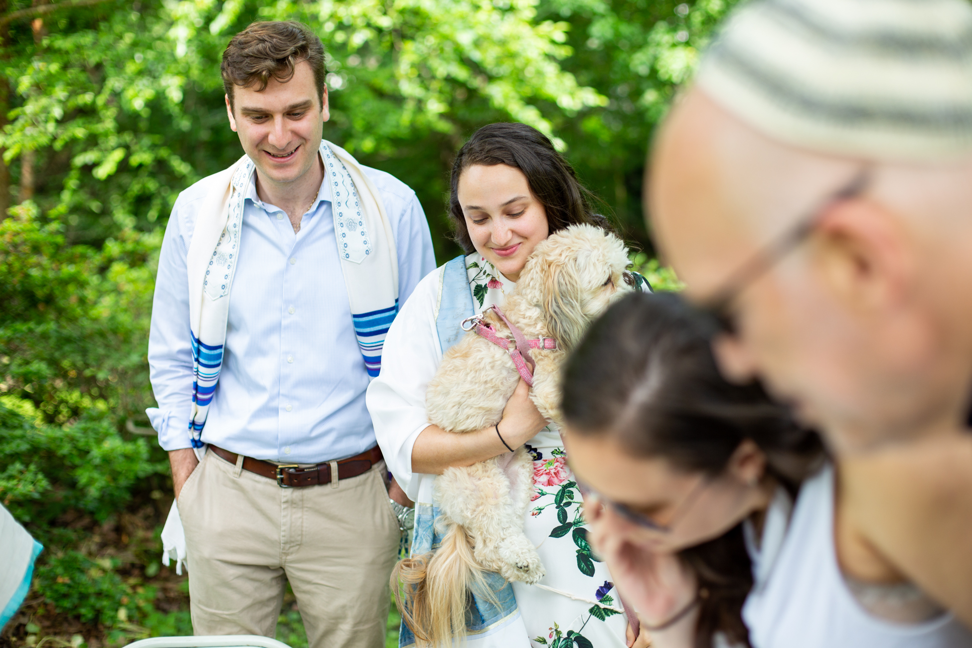 Elizabeth and Alex's Wedding Ceremony in Merion Botanical Gardens by Avi Loren Fox LLC-10.jpg