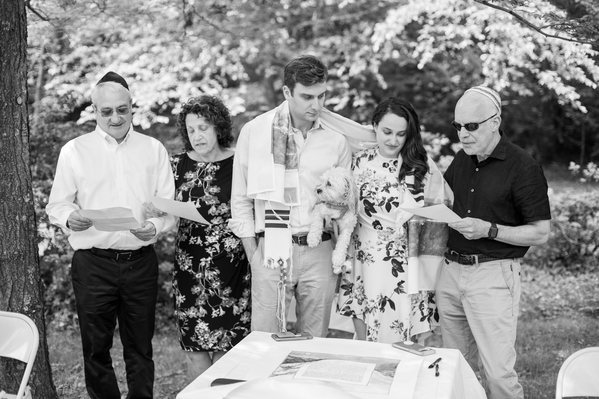 Elizabeth and Alex's Wedding Ceremony in Merion Botanical Gardens by Avi Loren Fox LLC-13.jpg