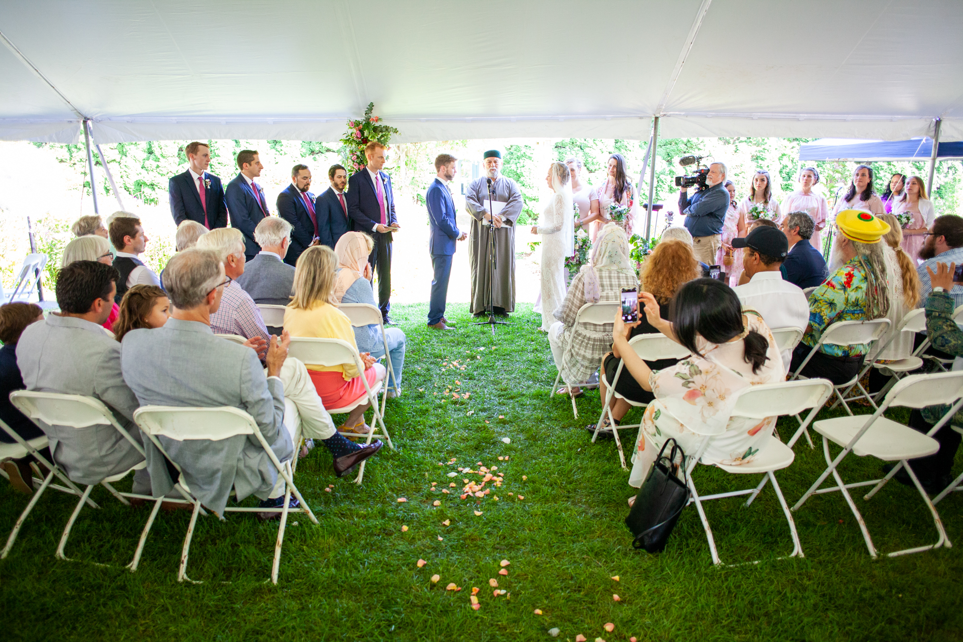 MaryFatimah and Noah's Summer Wedding at Bawa Muhaiyaddeen Fellowship Farm by Avi Loren Fox LLC-19.jpg
