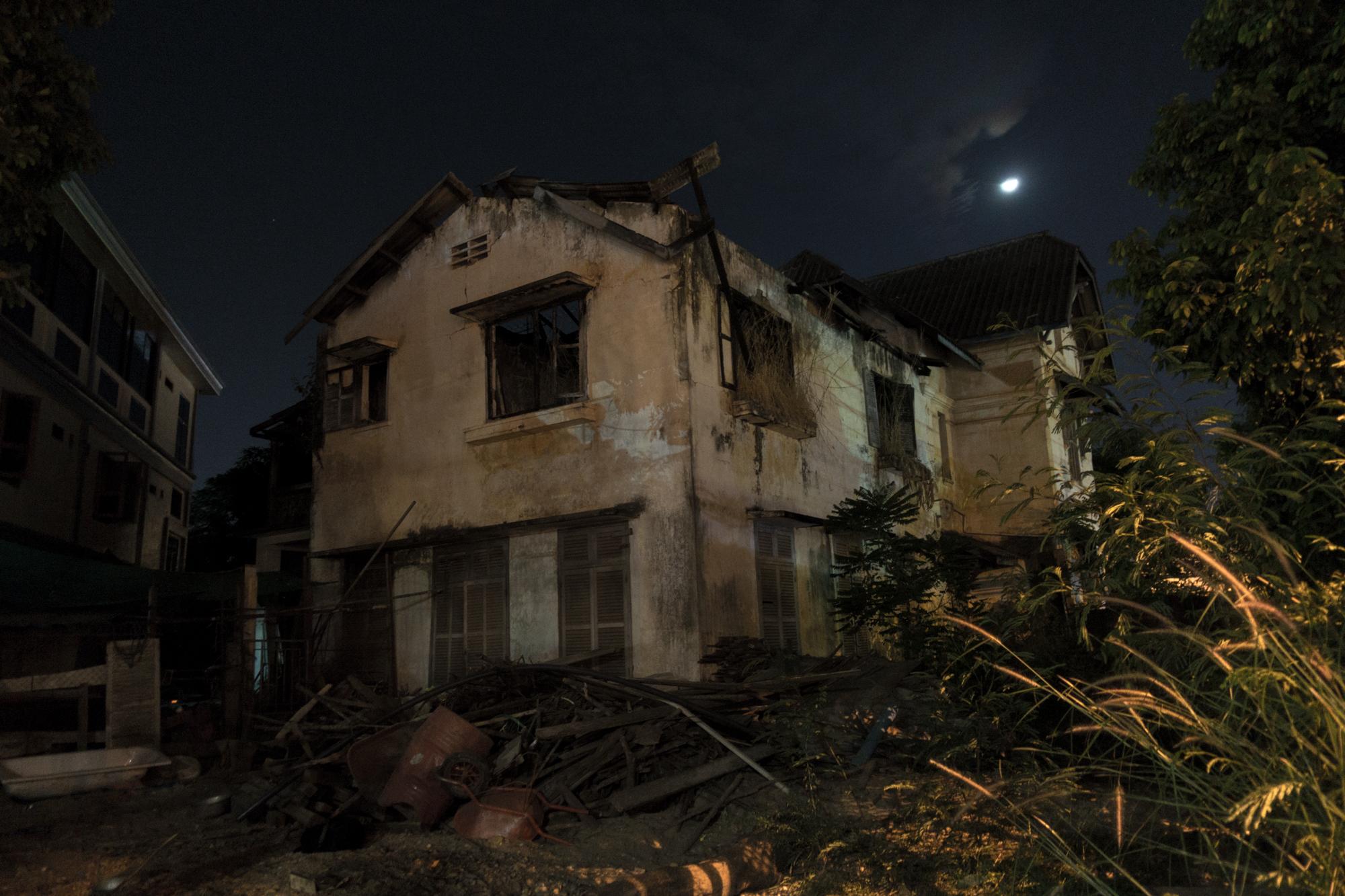 Abandoned House, Vientiane, Laos
