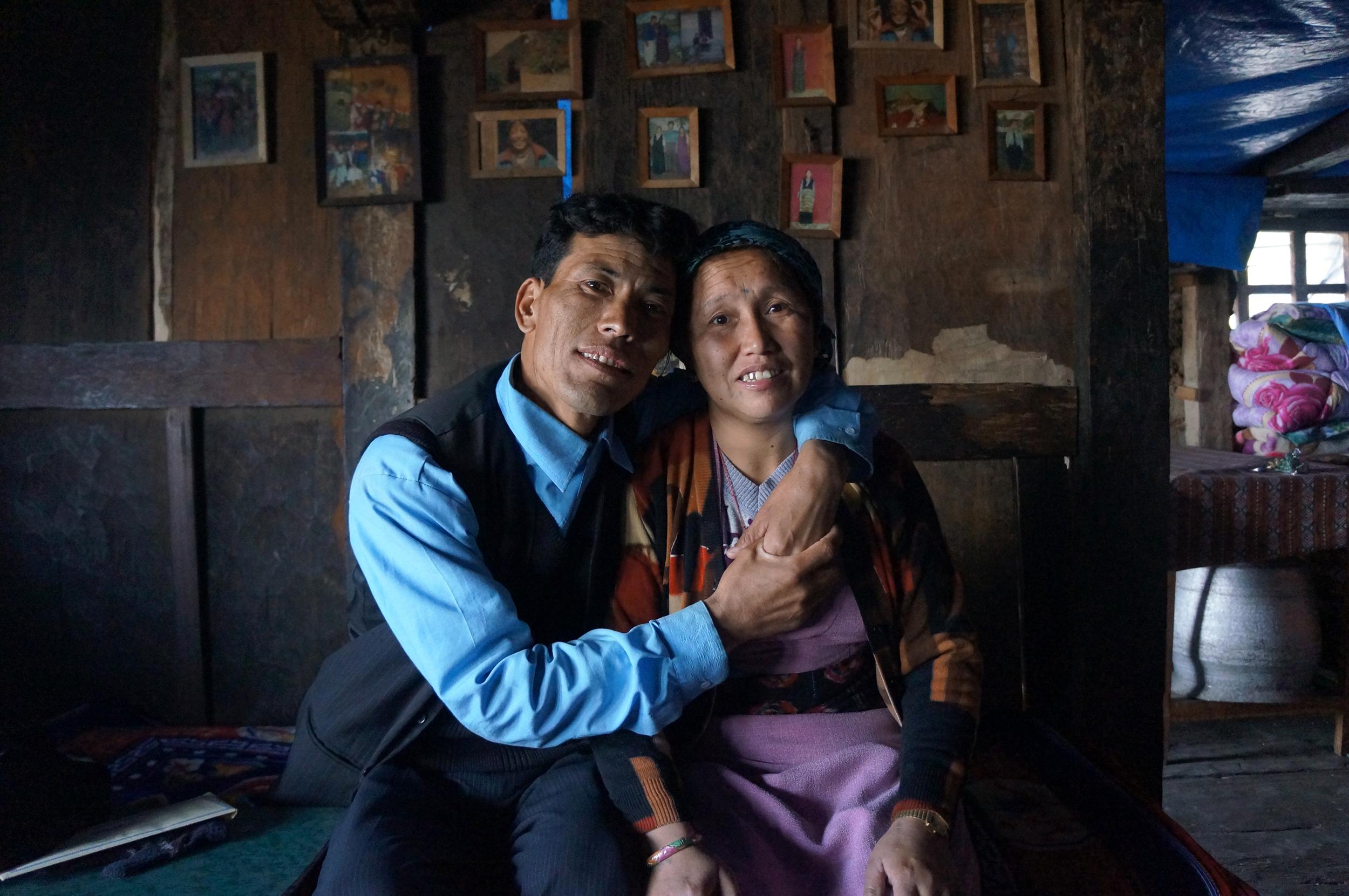 Tenjen and Neima-  Langtang, Valley,Nepal