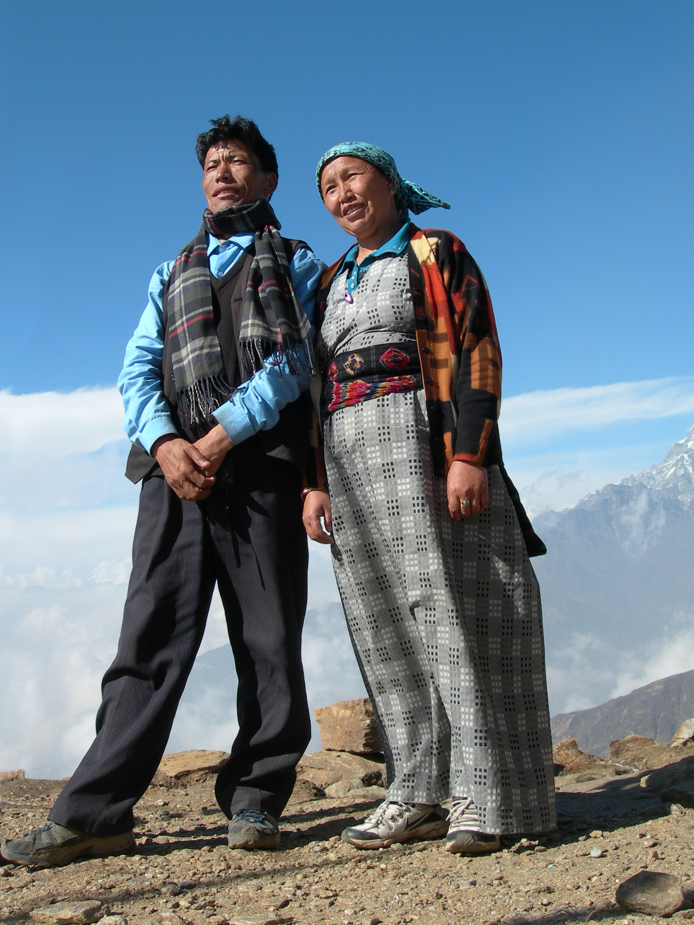 Tenjin and Neima-  Langtang, Nepal
