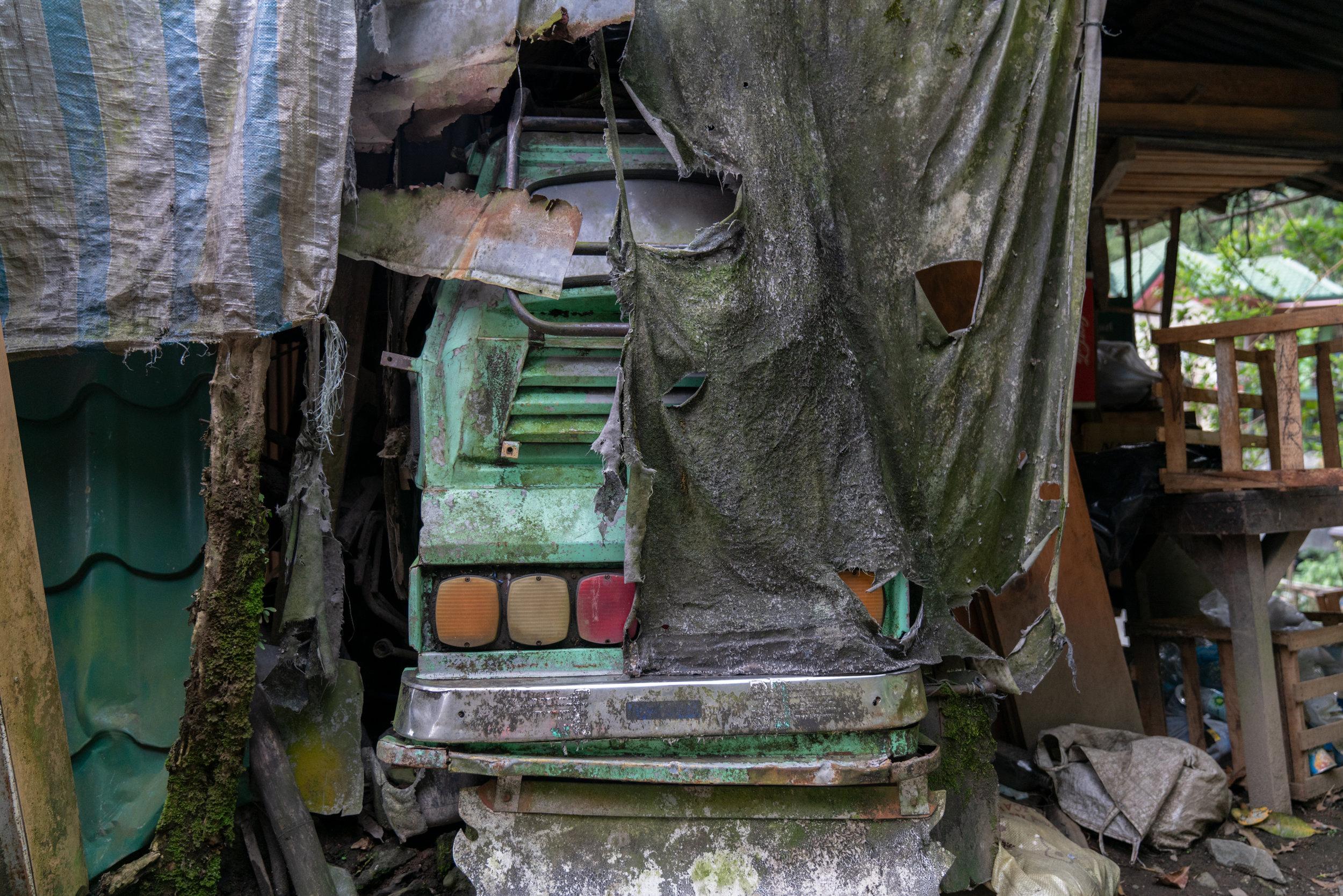 Abandoned Fun Ride- Banaue, Philippines