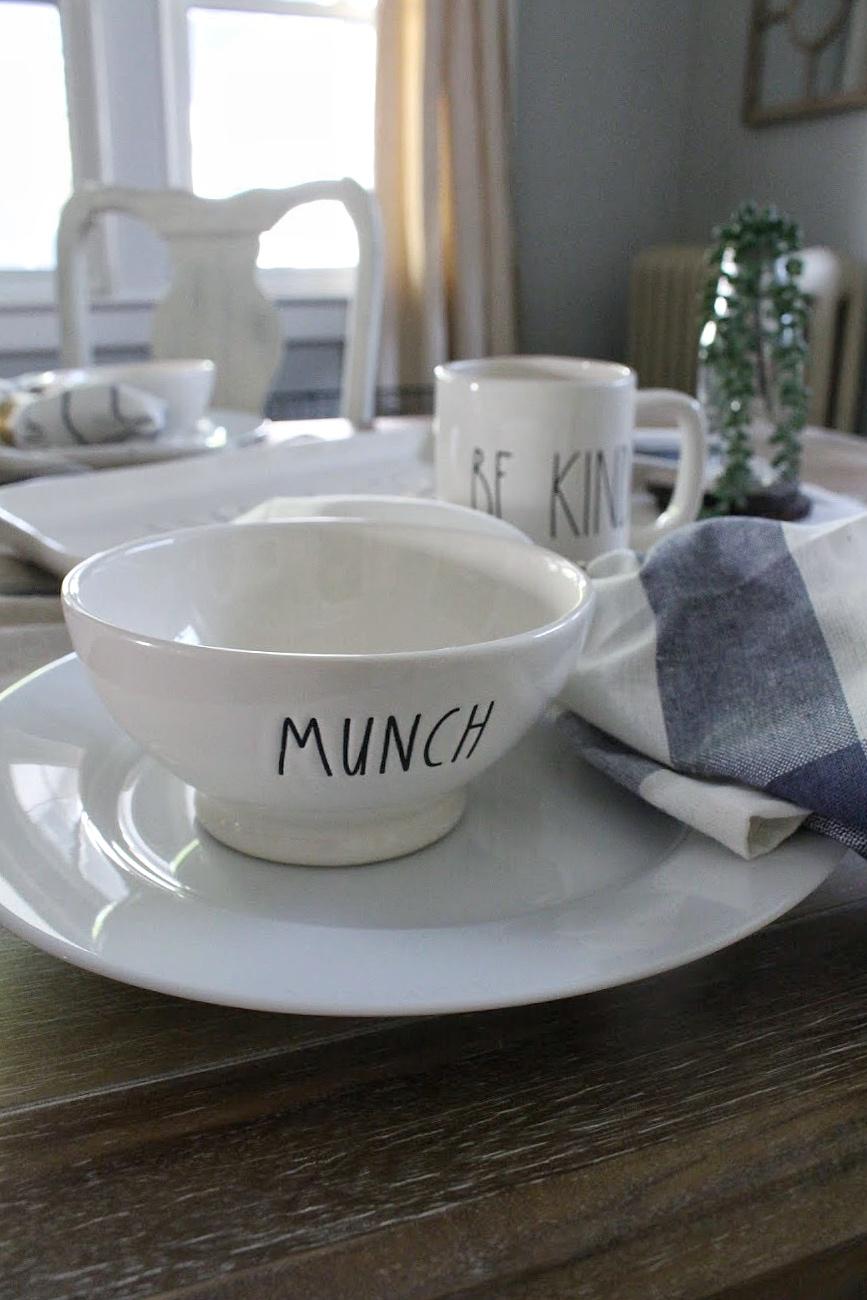 Rae Dunn munch bowl