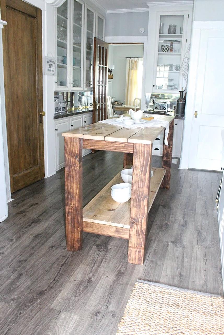 New kitchen floors