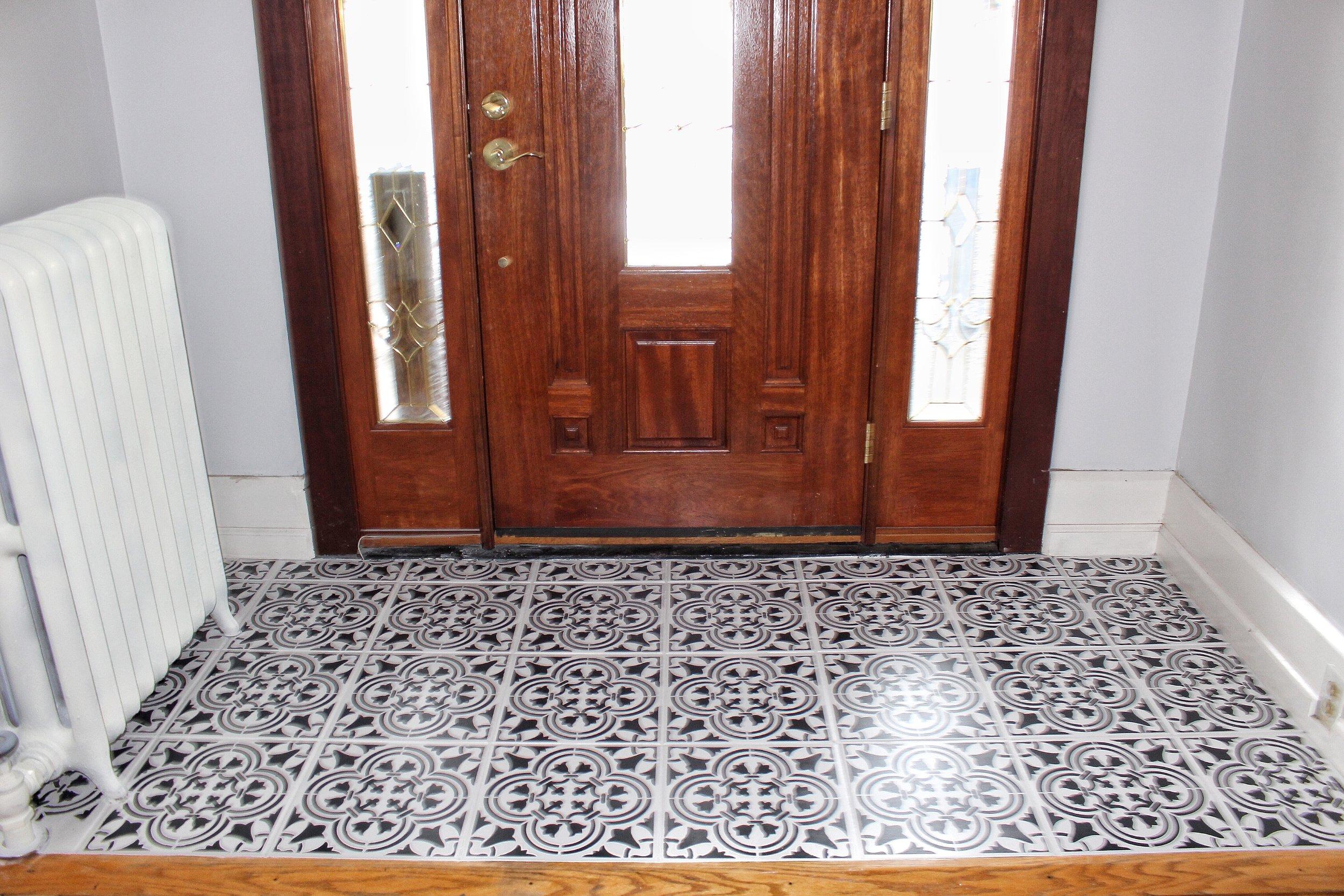 Close Up of tiles