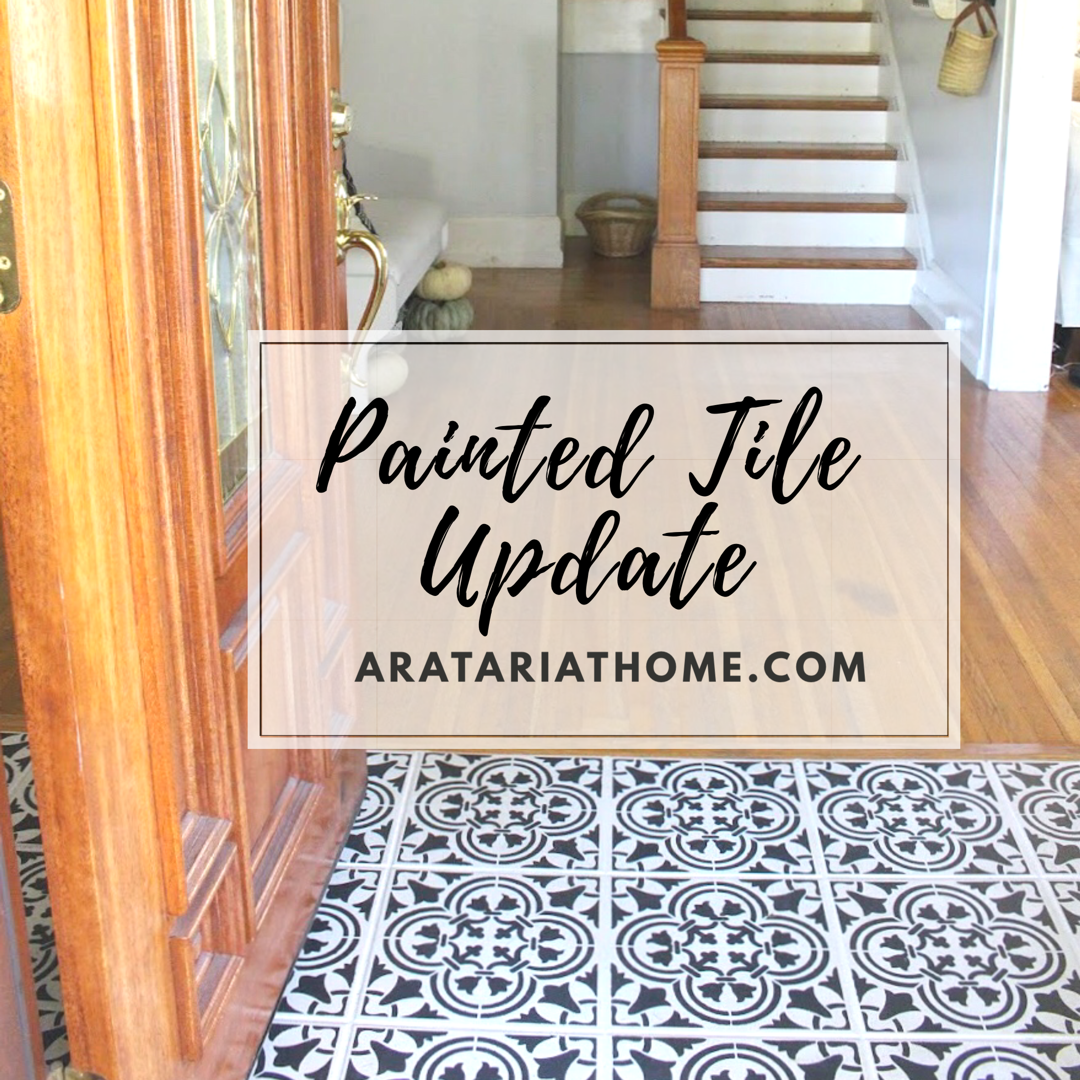 Painted Tile Update