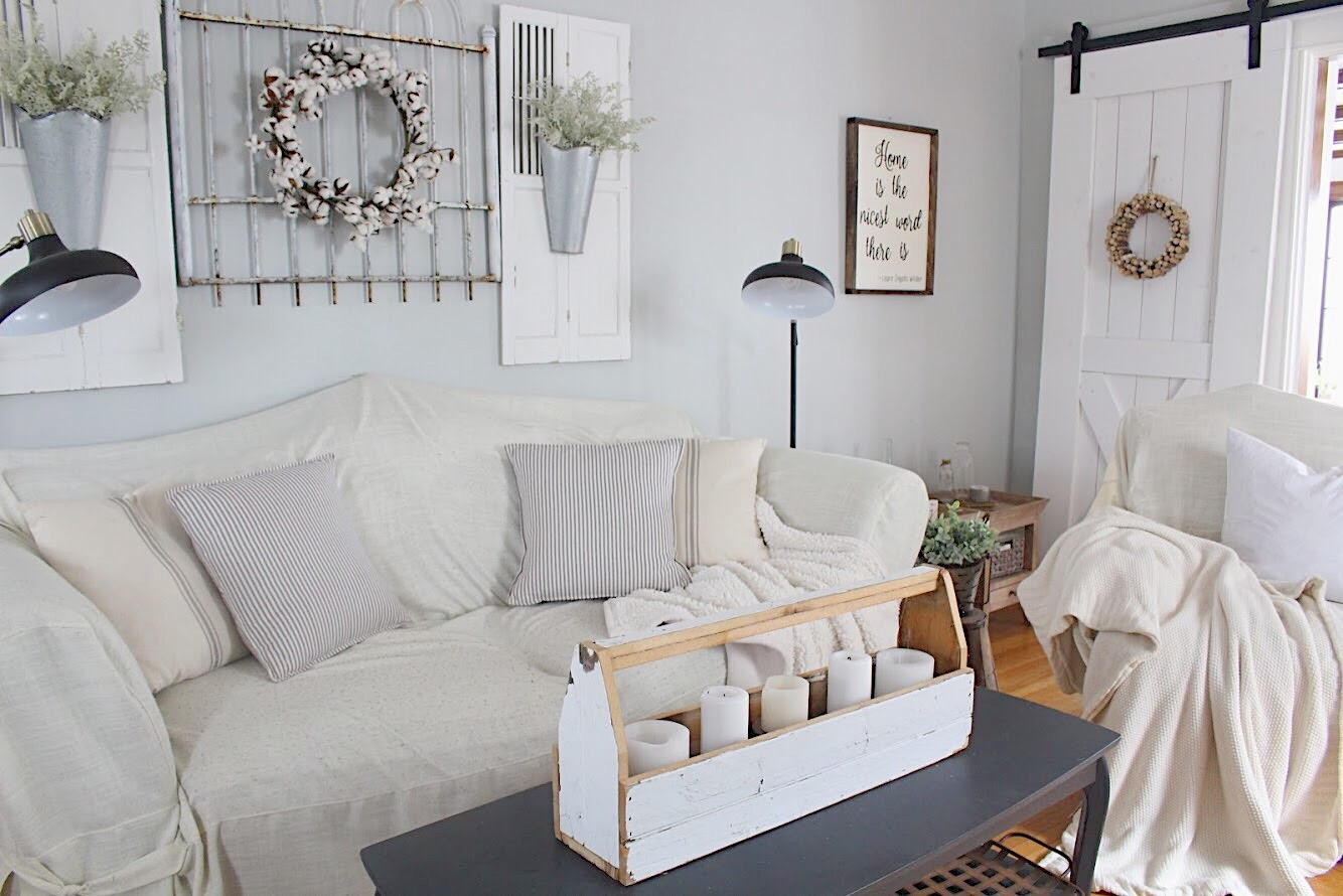 Paint Colors in Our Home-Silver Marlin