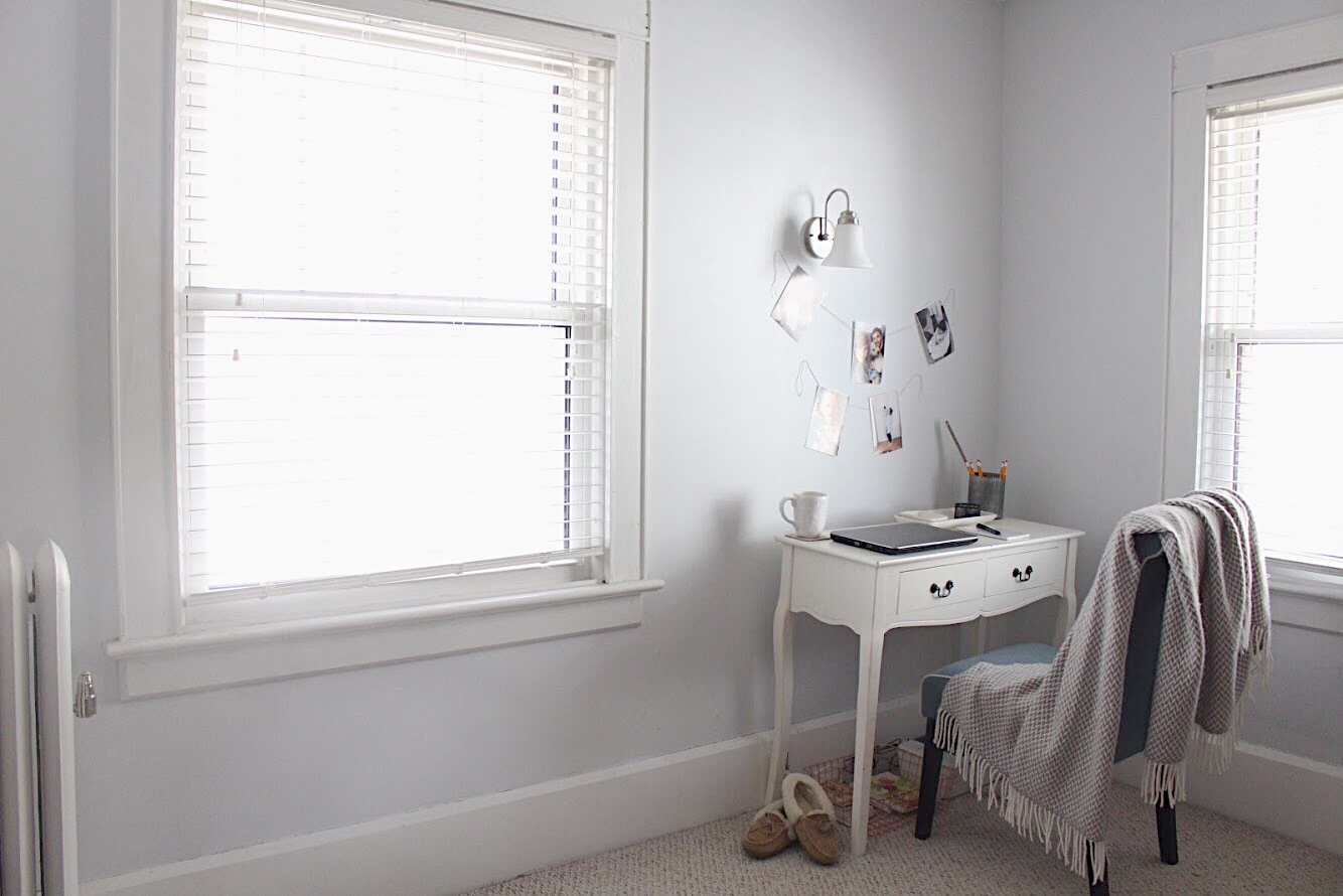 Paint Colors in Our Home-Silent White