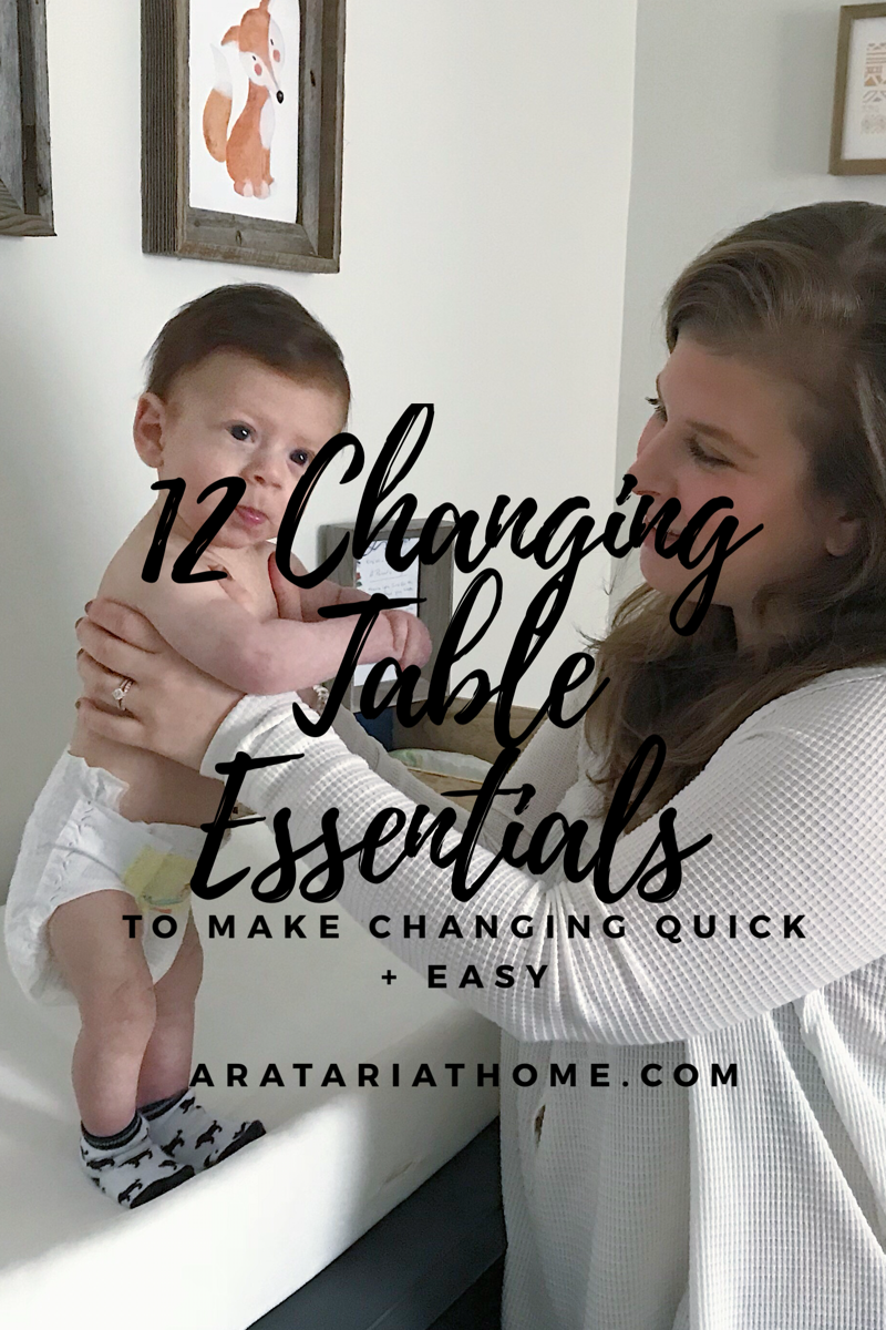 Changing Table Essentials