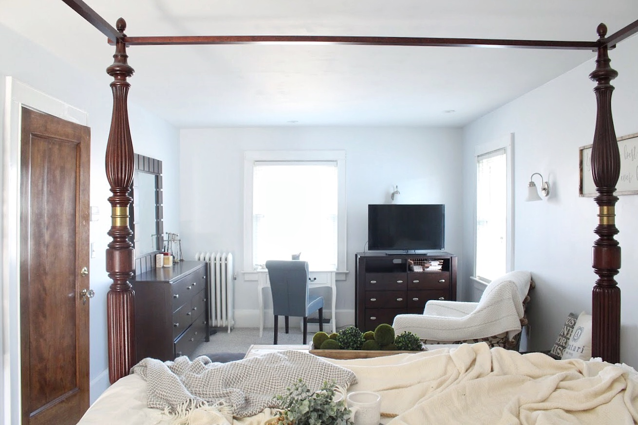 Full view of master bedroom