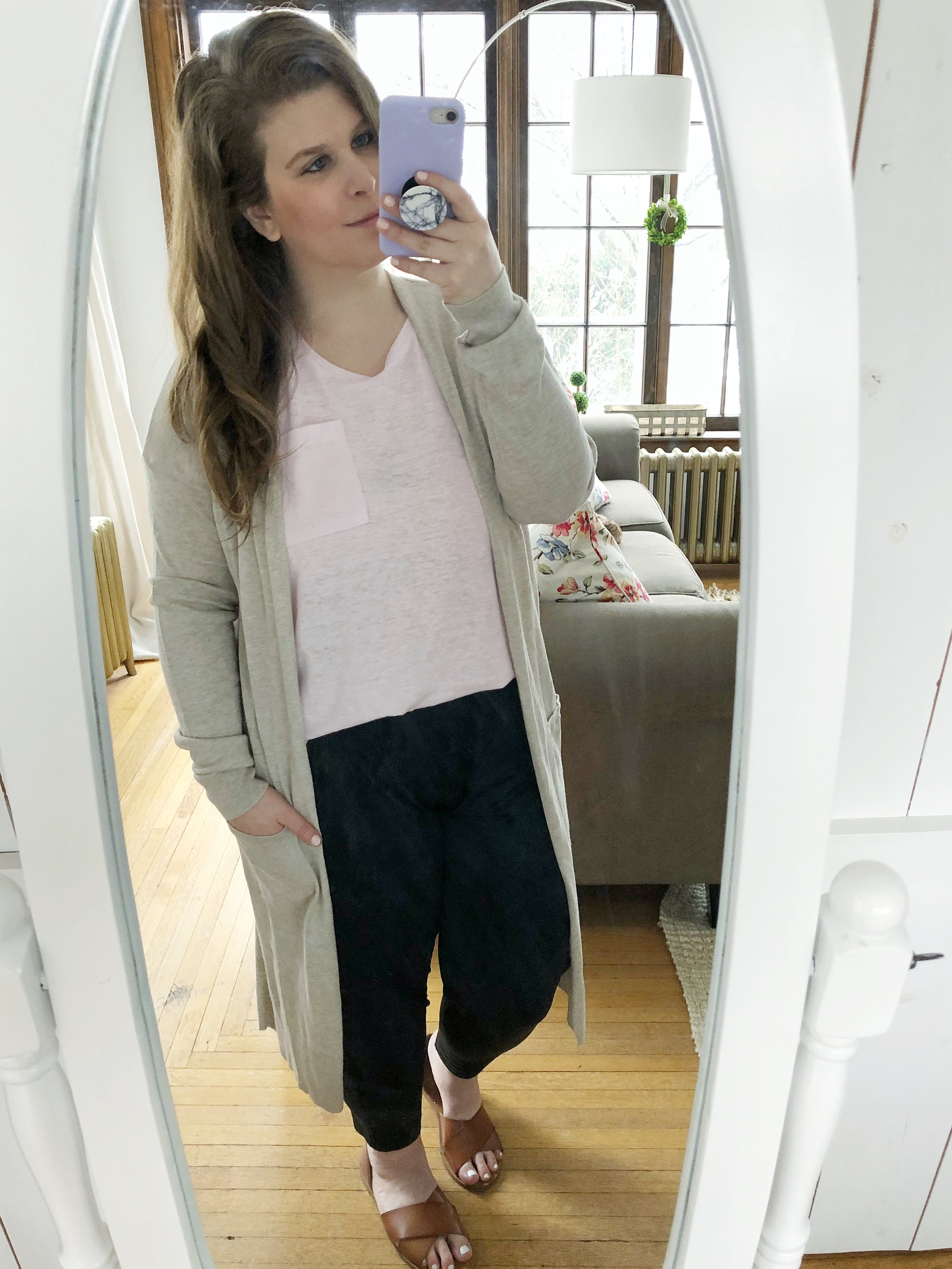 Dressy comfy jogger style
