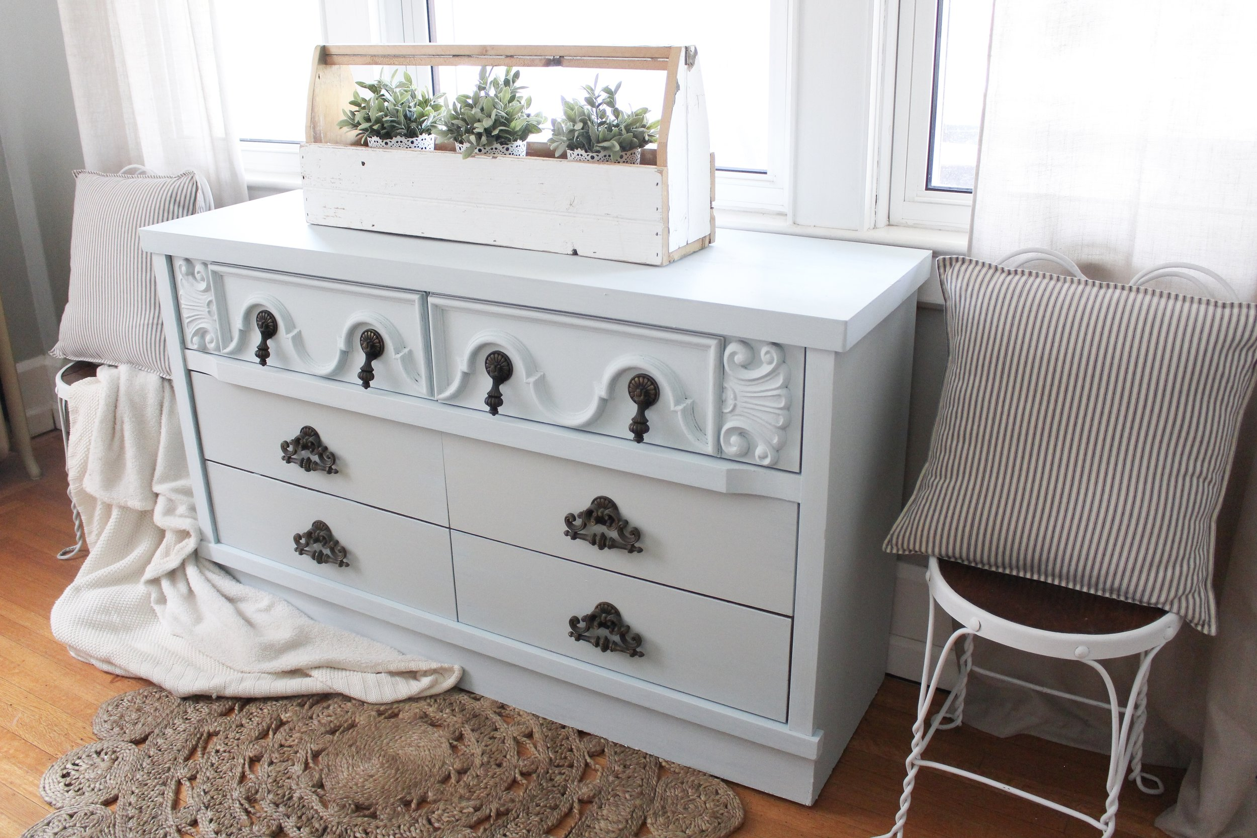 Painted Cabinet Makeover