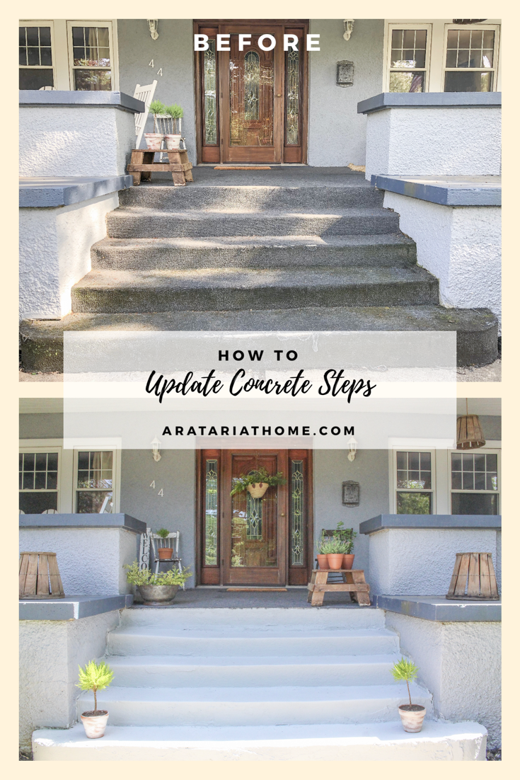 How to Update Concrete Steps
