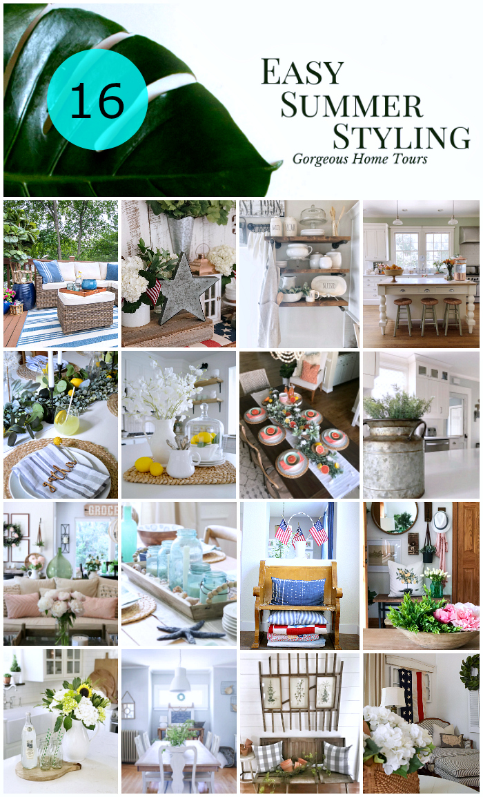 Easy Summer Styling Home Tour