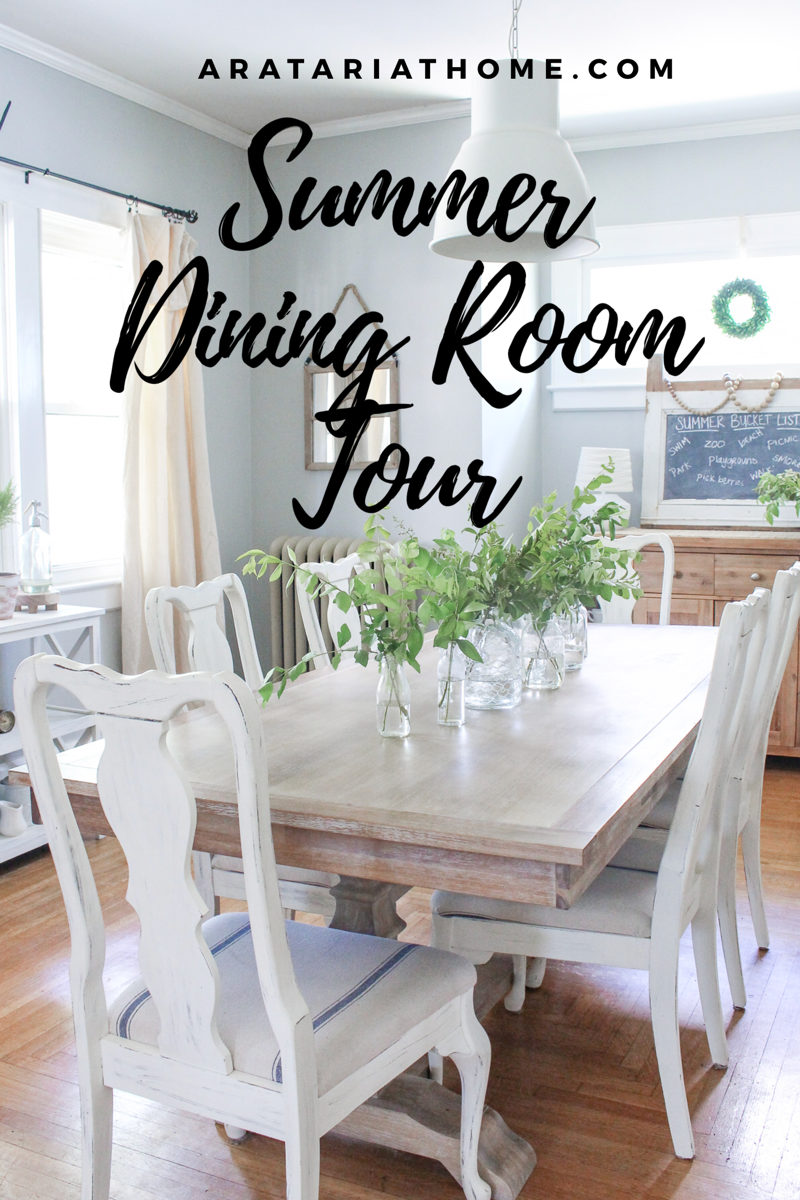 Summer Dining Room Tour