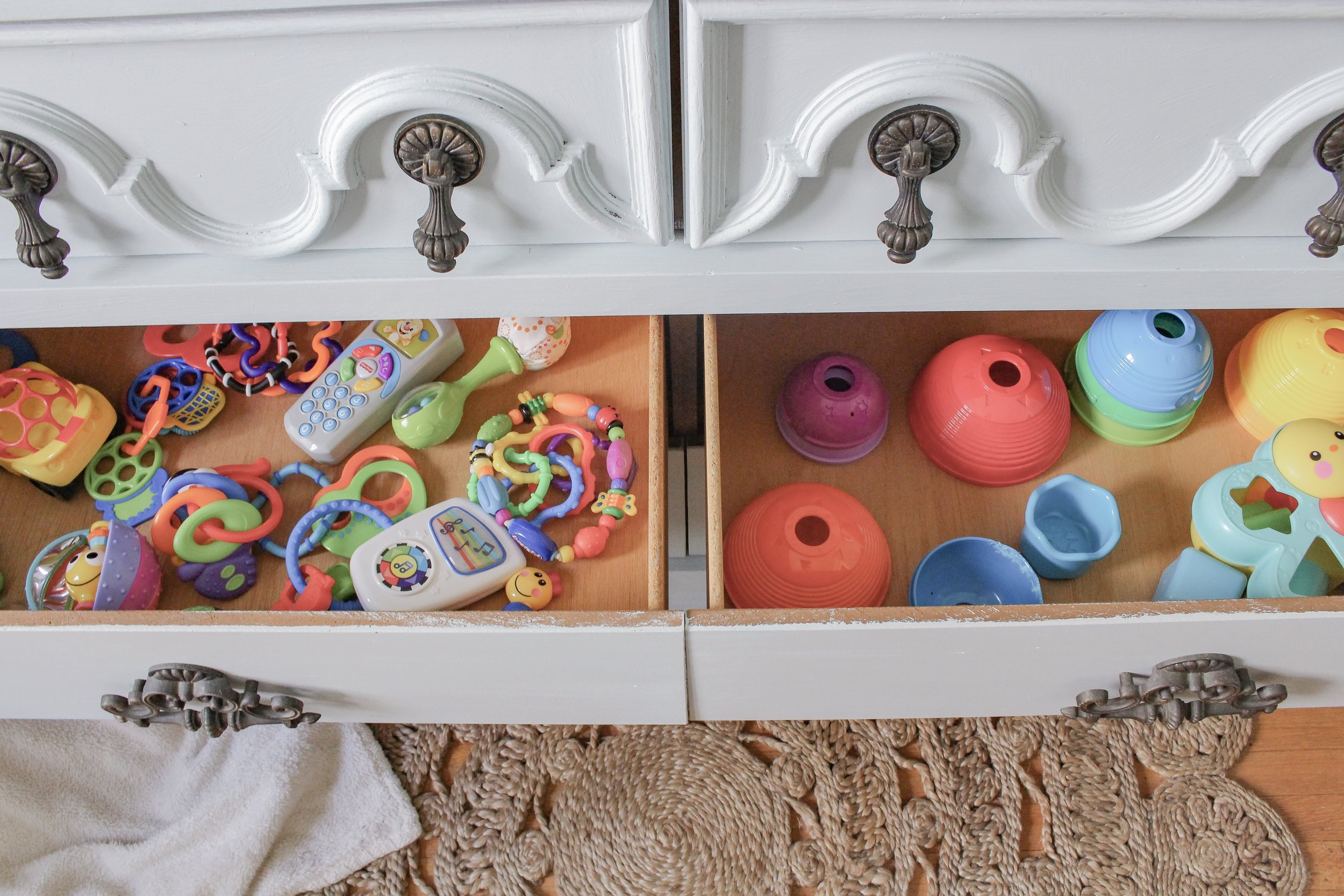 Toy drawers