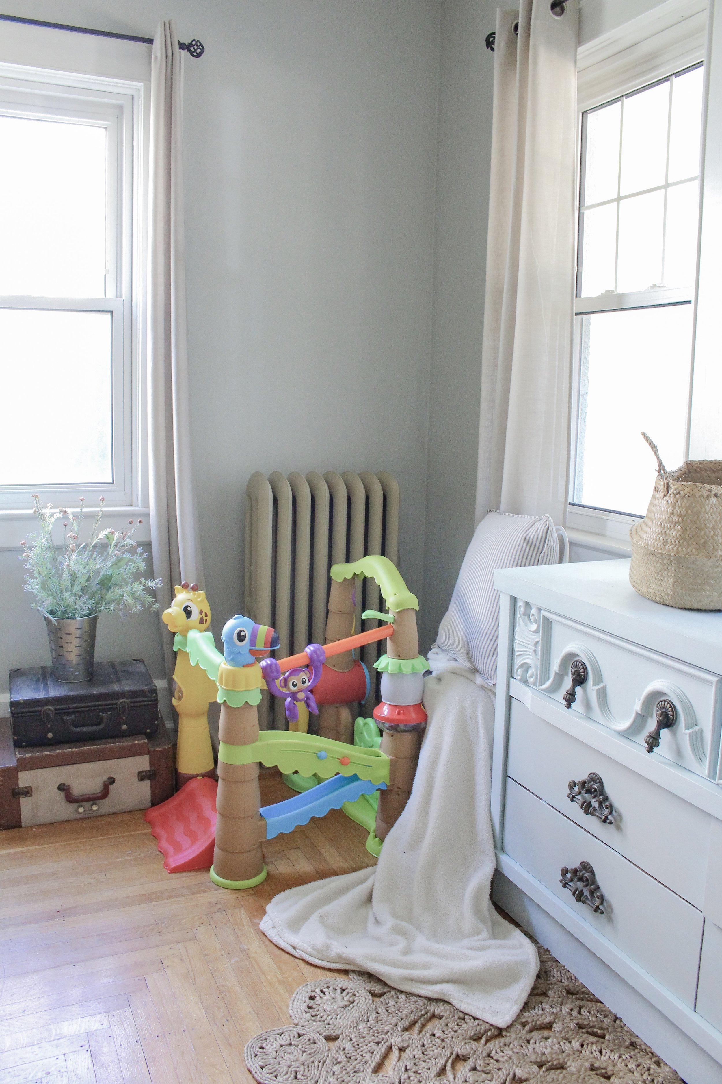 Treehouse toy corner