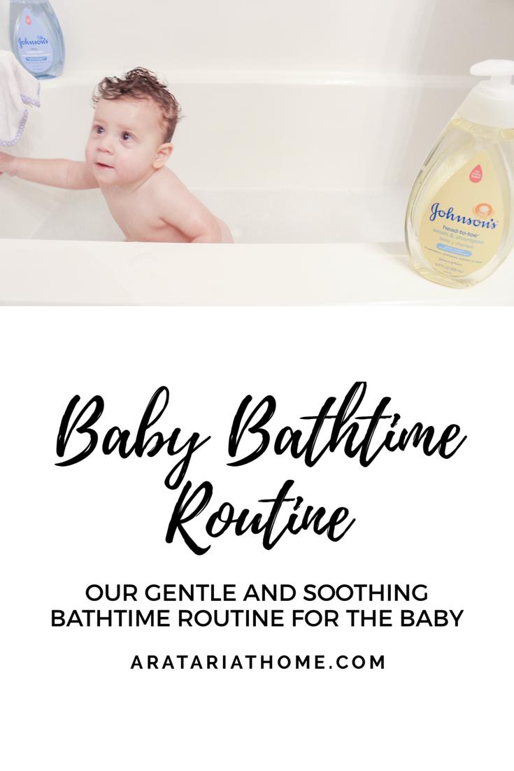 Baby Bathtime Routine