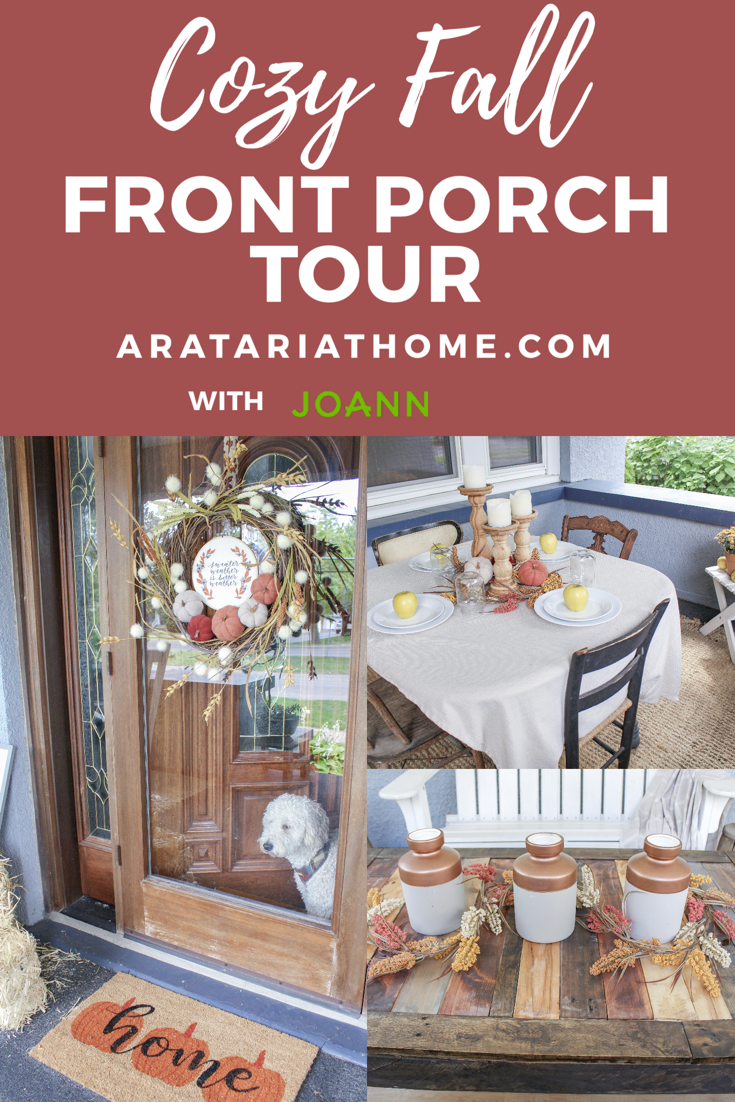 Cozy Fall Front Porch Tour