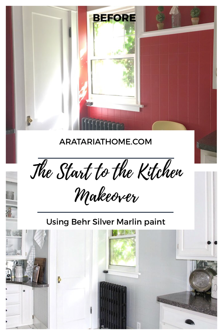 The Start to the Kitchen Makeover