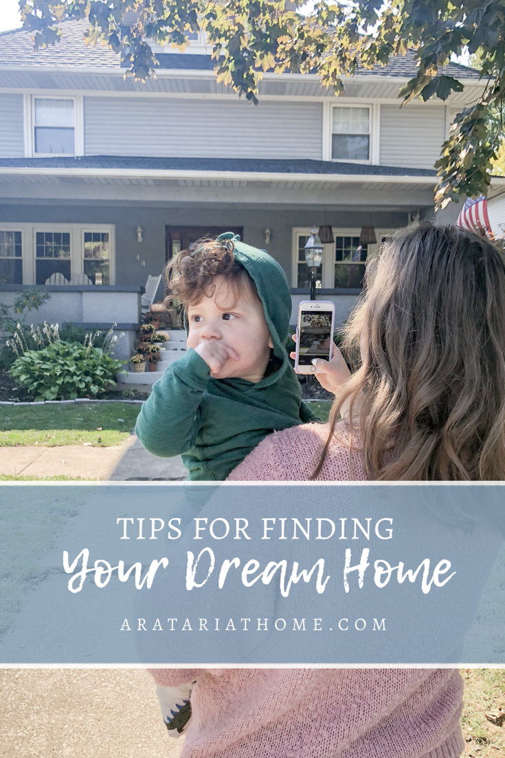 Tips for Finding Your Dream Home