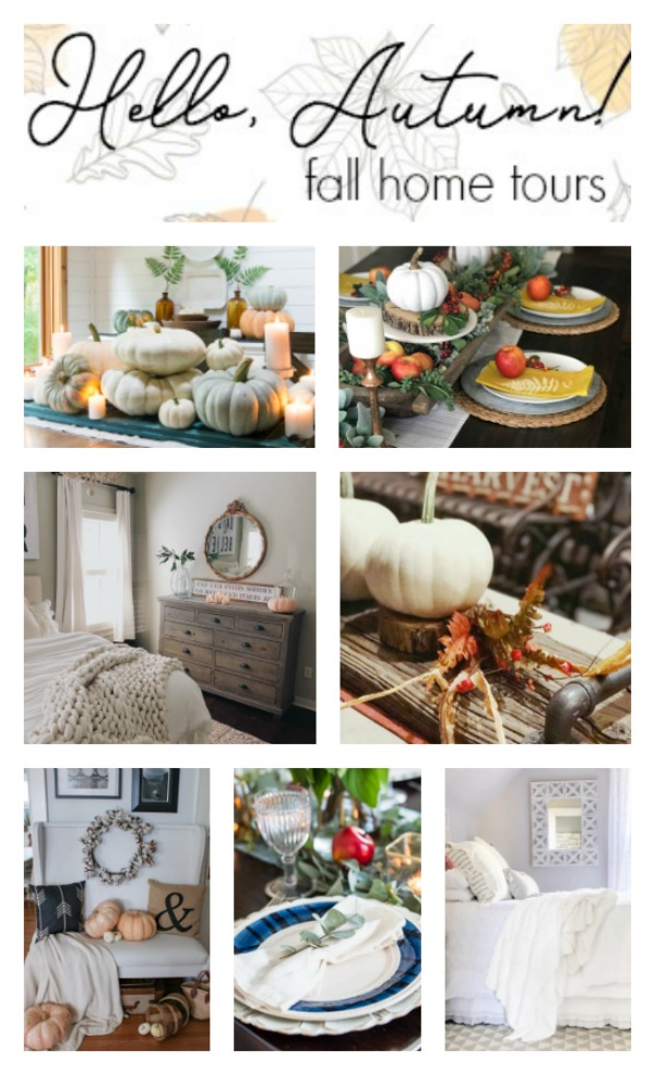 Hello Autumn Fall Home Tours