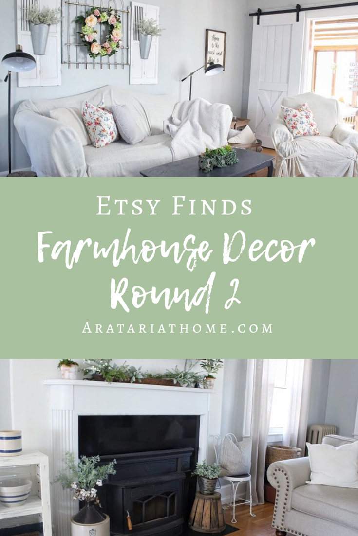 Etsy Finds--Farmhouse Decor Round 2