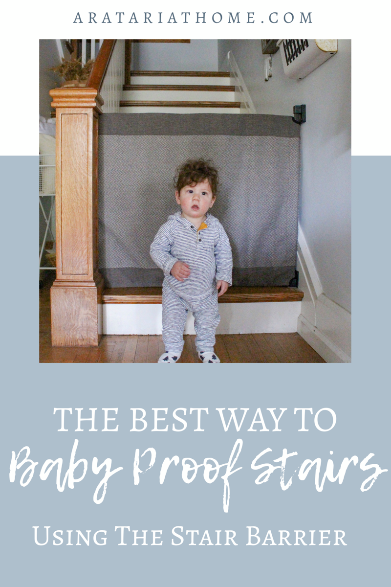 The Best Way to Baby Proof Stairs Using The Stair Barrier