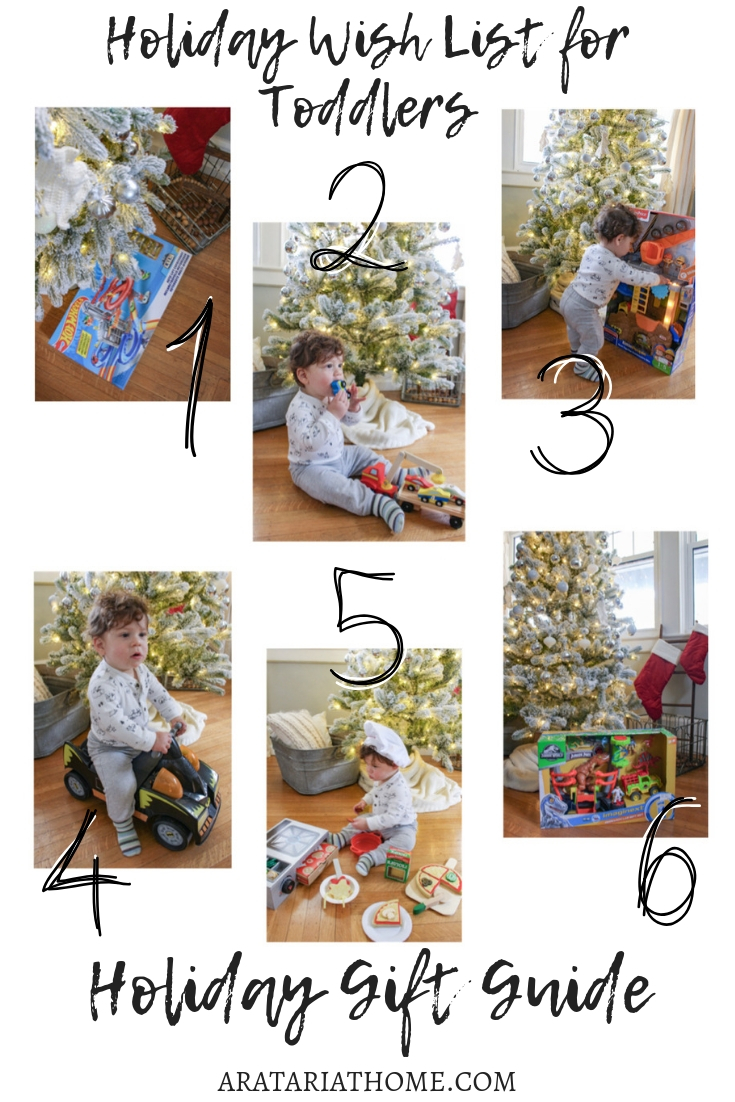 Holiday Wish List for Toddlers