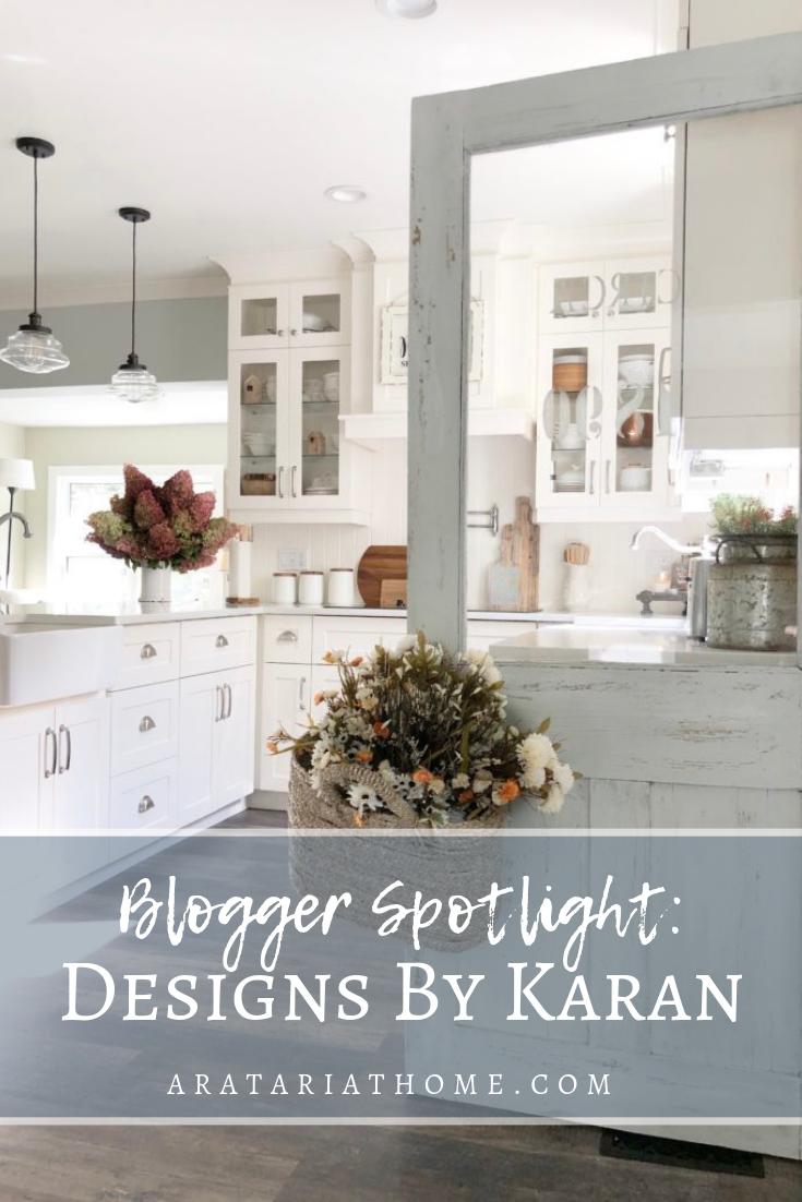 Blogger Spotlight with Designs by Karan