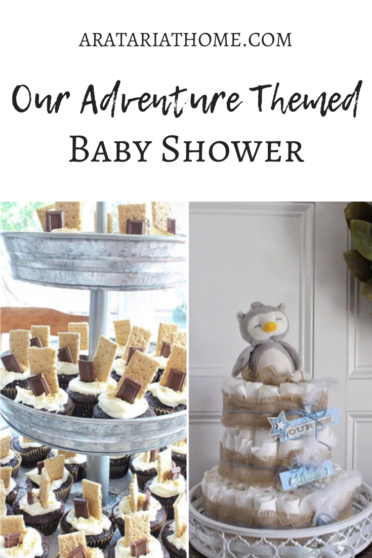Our Adventure Themed Baby Shower
