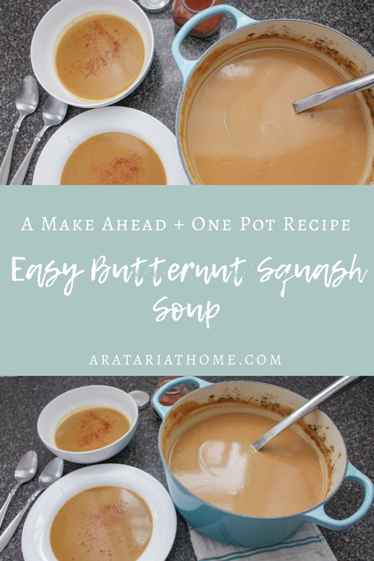 Easy Butternut Squash Soup