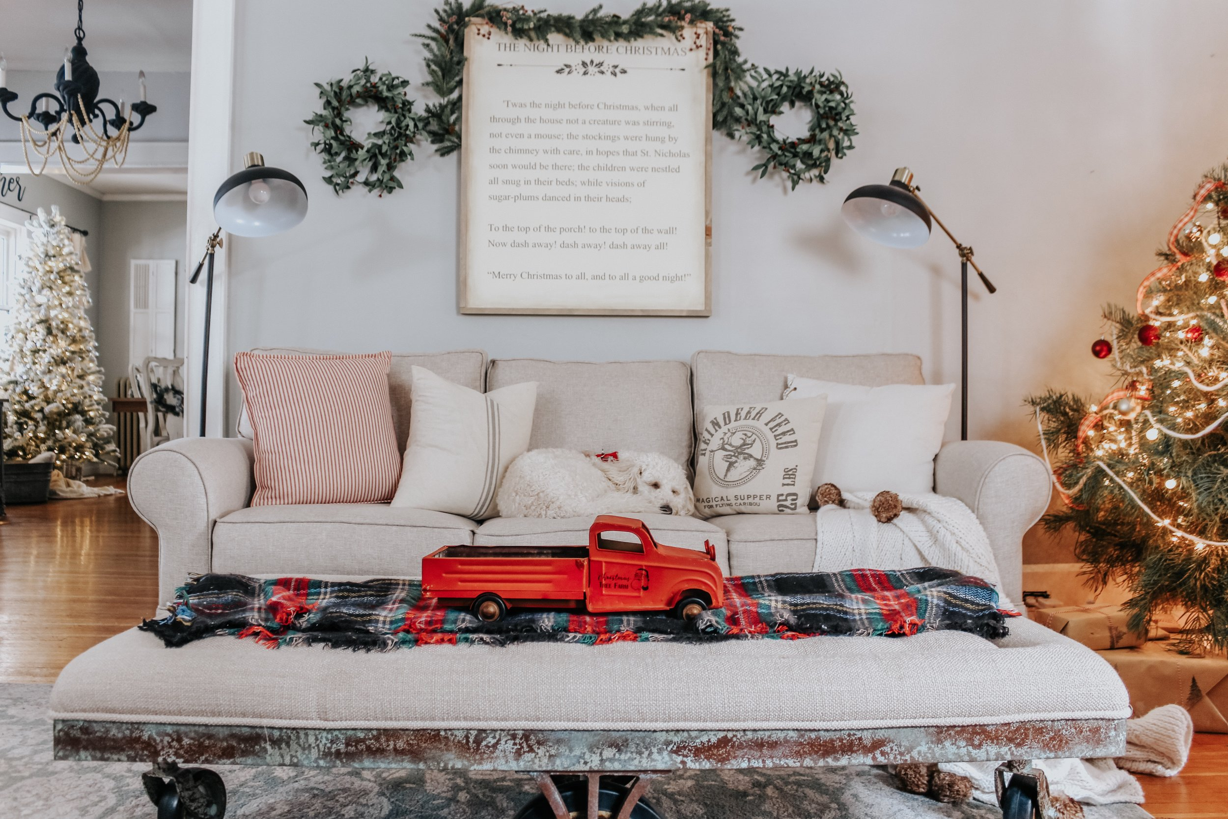 Night Before Christmas Sign