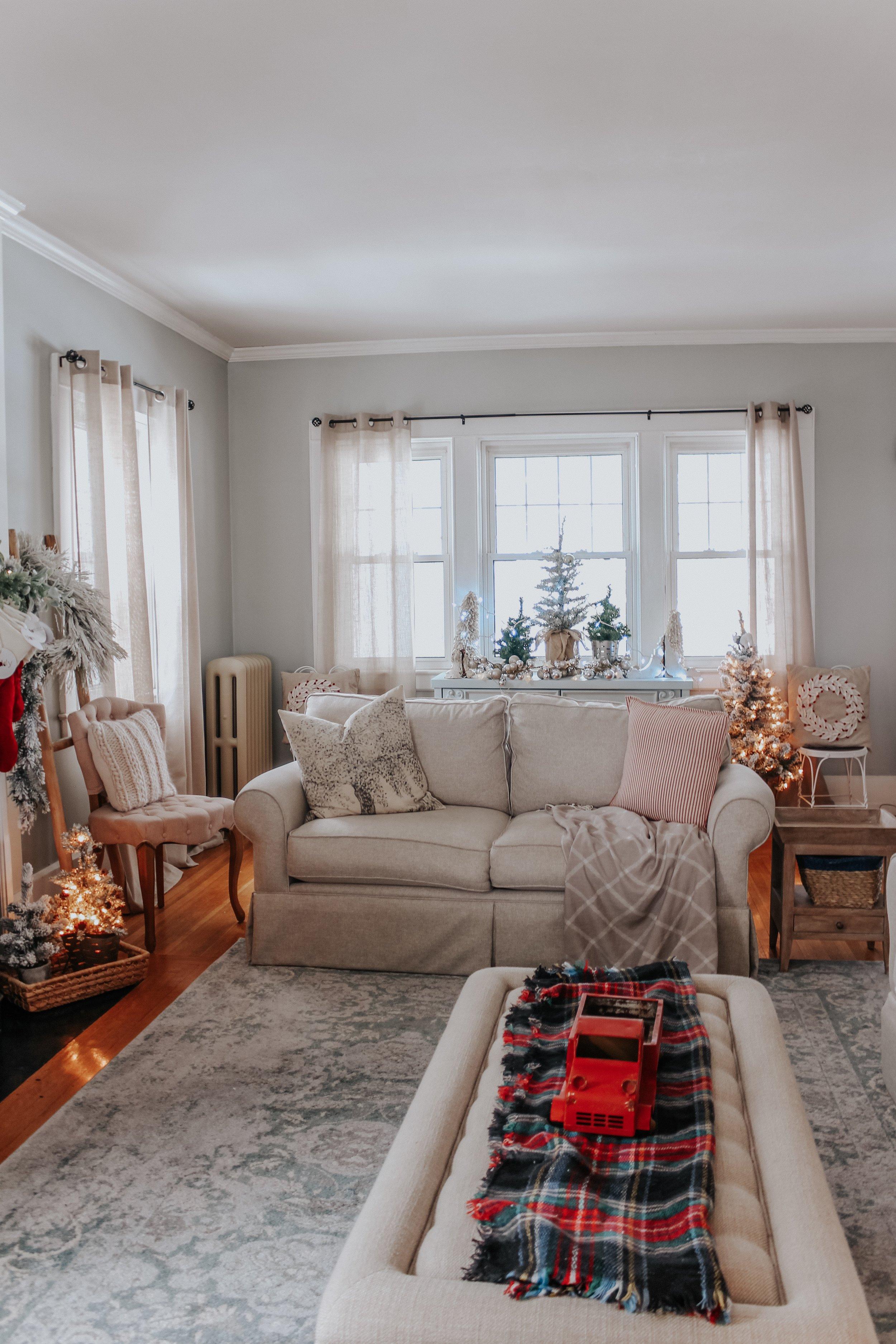 Christmas living room pillows