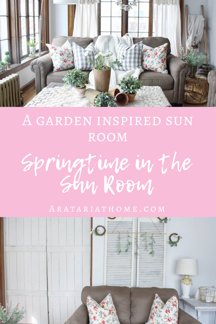 Springtime in the Sun Room