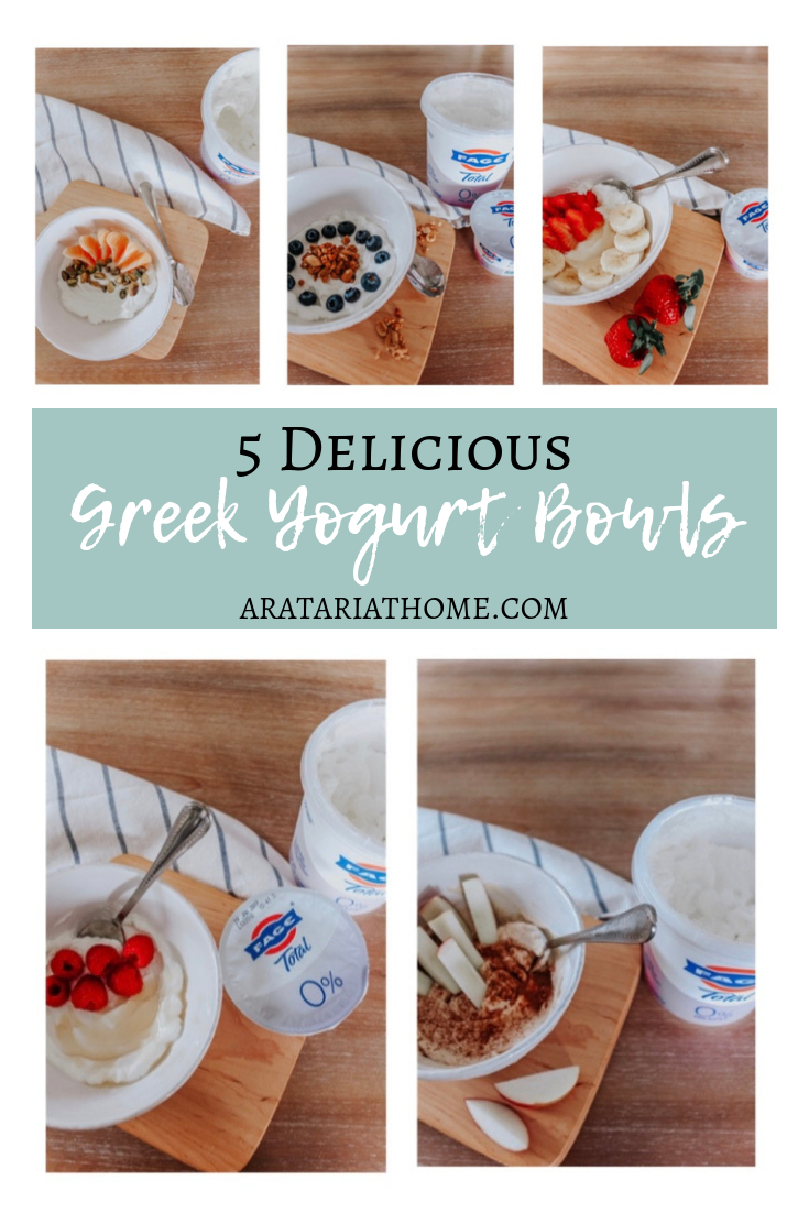 5 Delicious Greek Yogurt Bowls