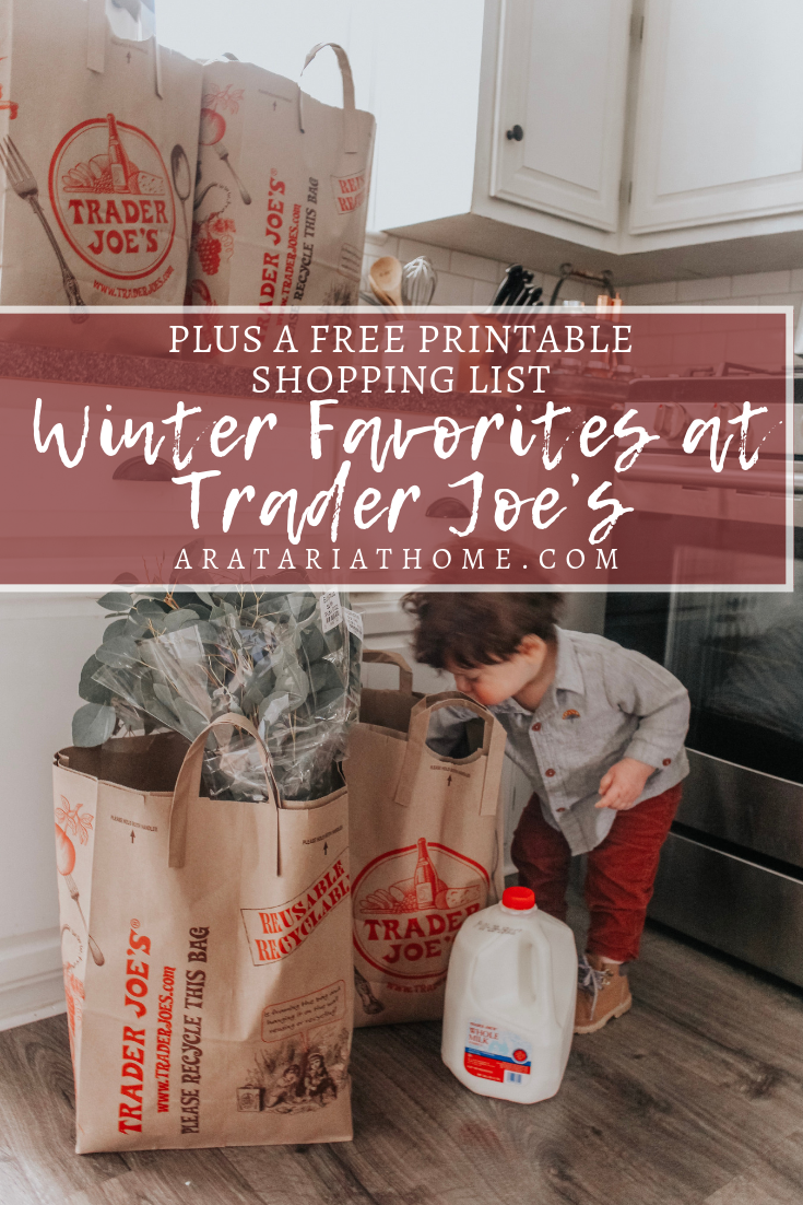 Winter Favorites at Trader Joe's
