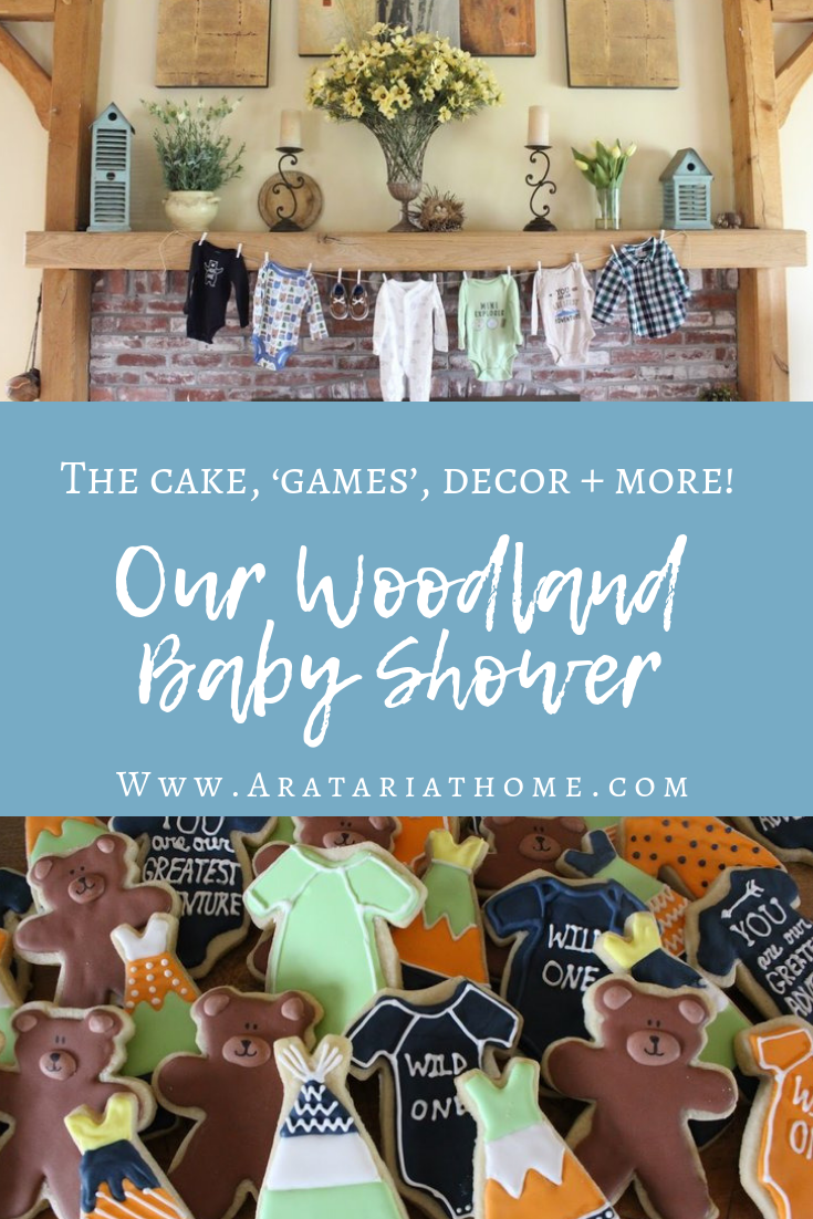 Our Woodland Baby Shower
