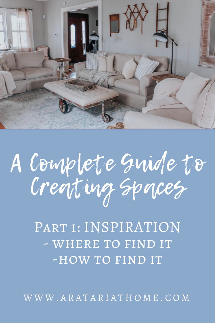 Creating Spaces starting with Inspiration