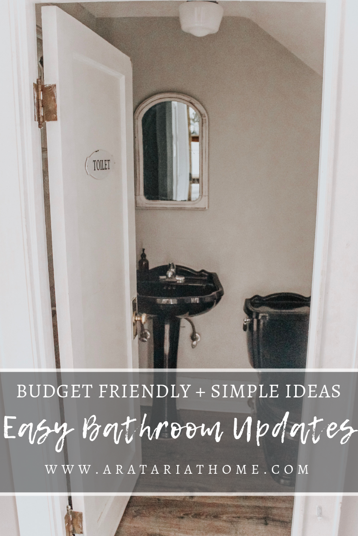 Easy Bathroom Updates