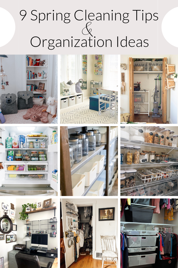 9 Spring Cleaning Tips and Organization Ideas