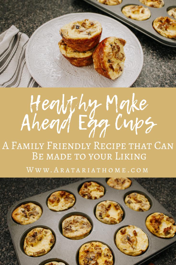 Healthy Make Ahead Egg Cups