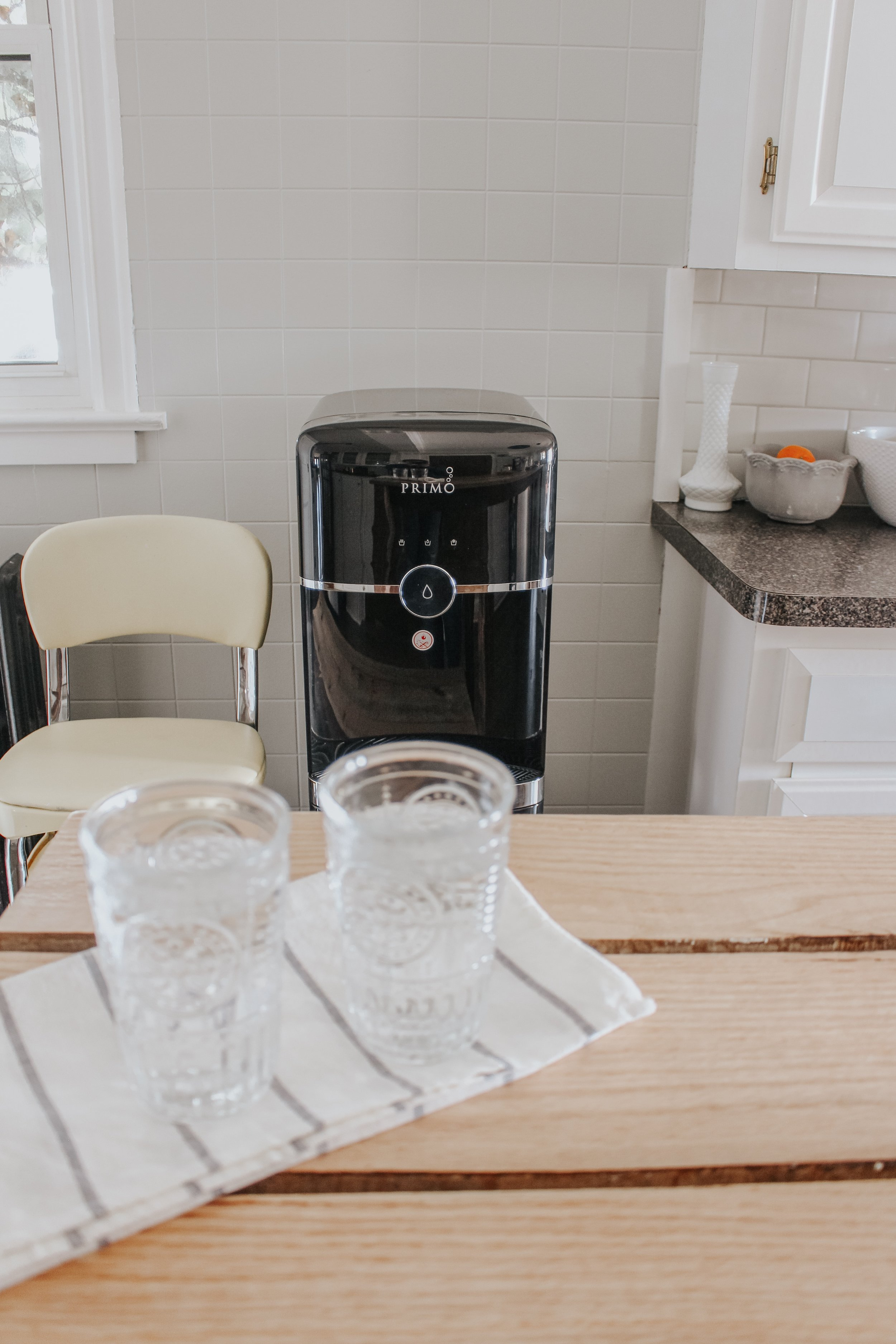Switching to Purified Drinking Water