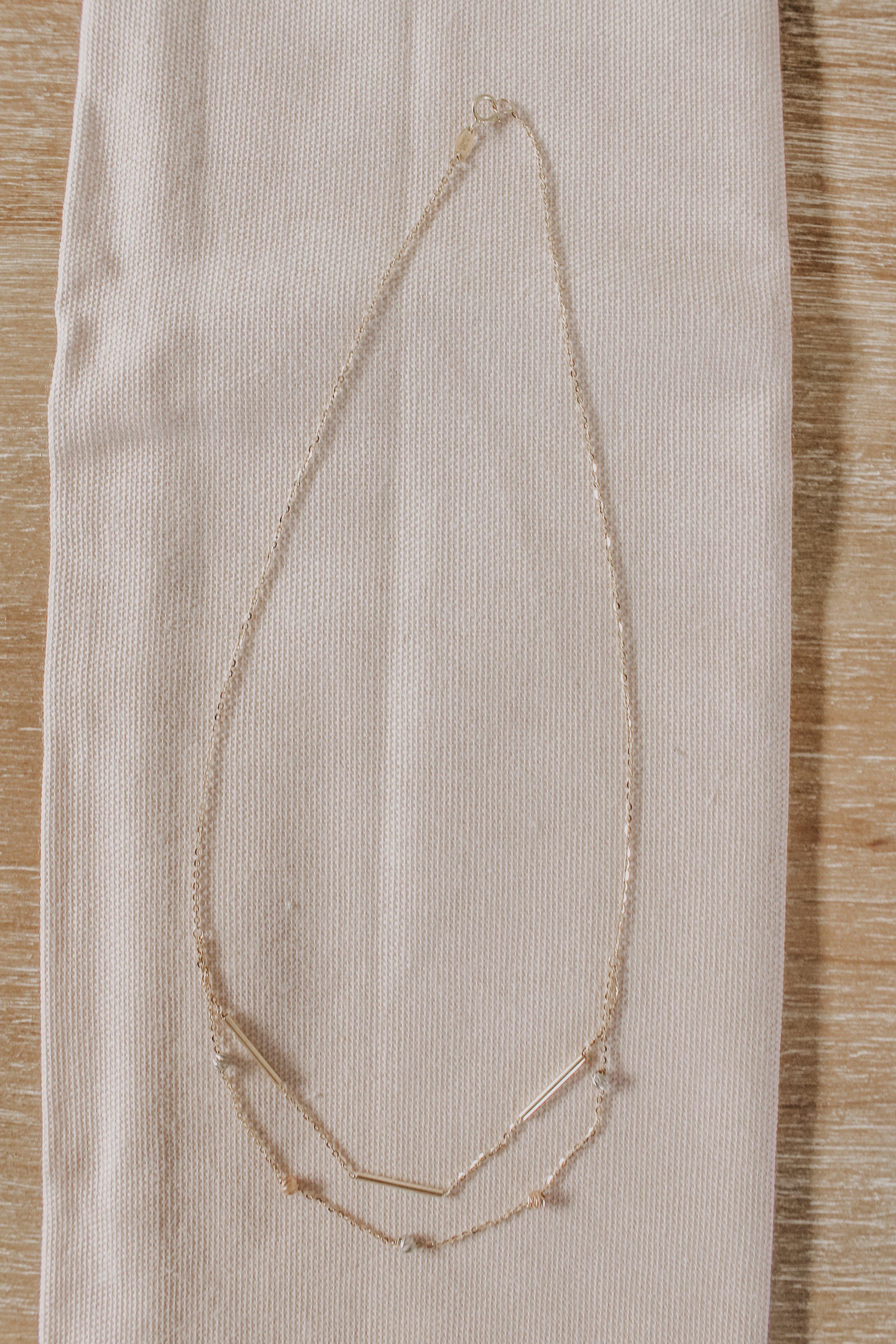 Tri Tone Necklace