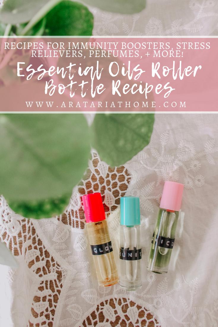 Essential Oils Roller Bottle Recipes
