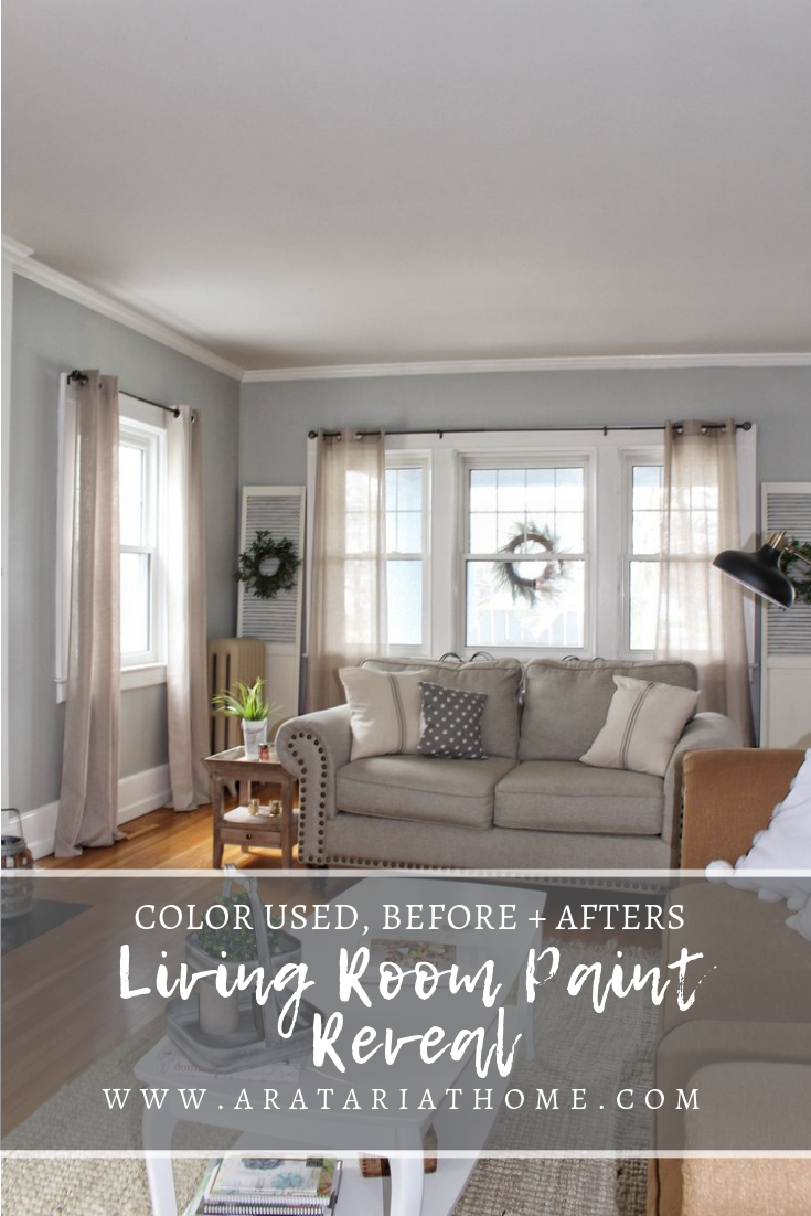 Living Room Paint Reveal