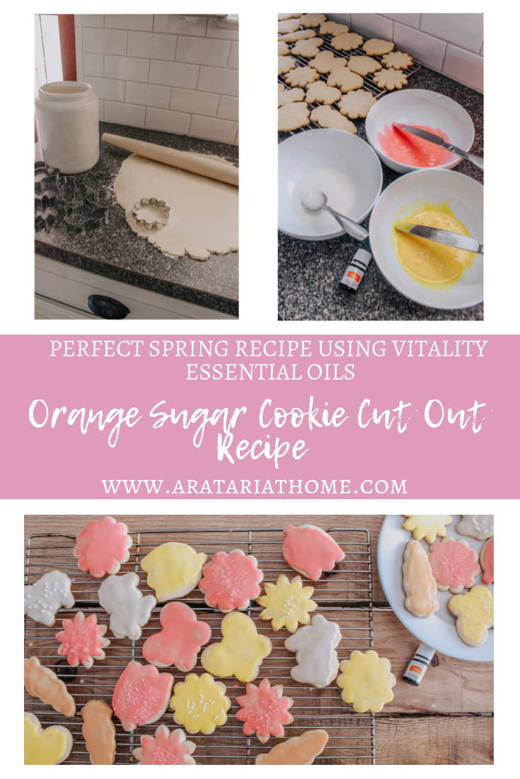 Orange Sugar Cookie Cut Out Recipe