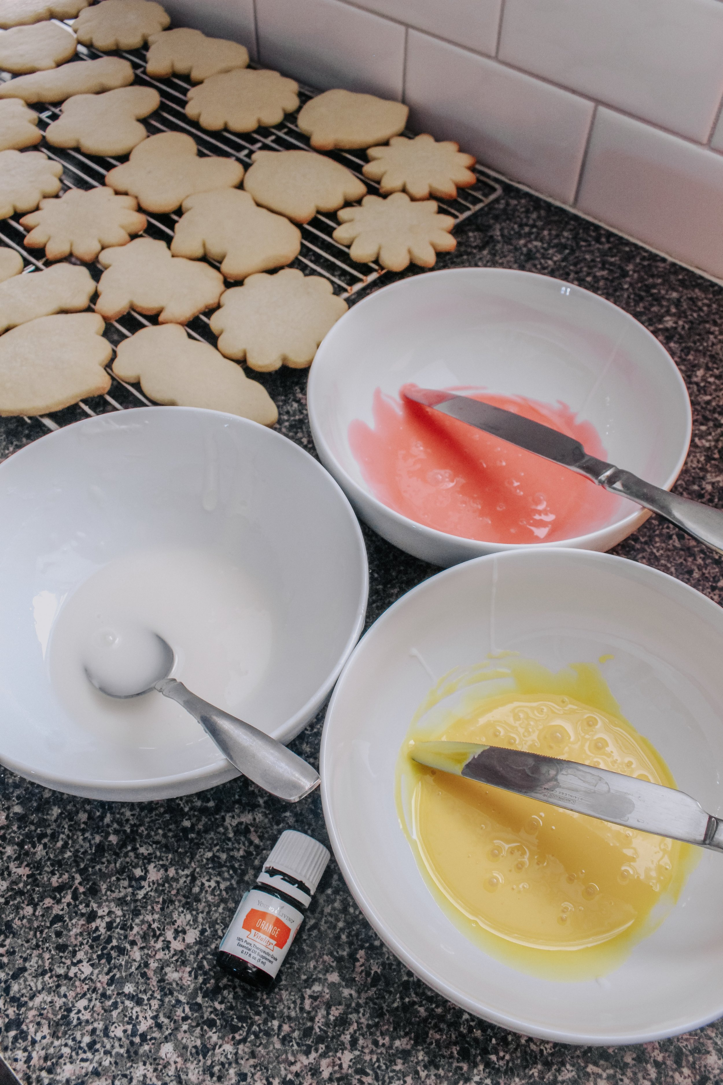 Icing for Orange Sugar Cookies